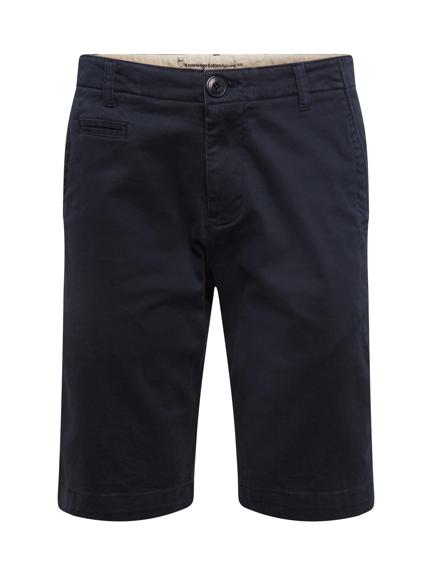 Kalhoty modrá KnowledgeCotton Apparel