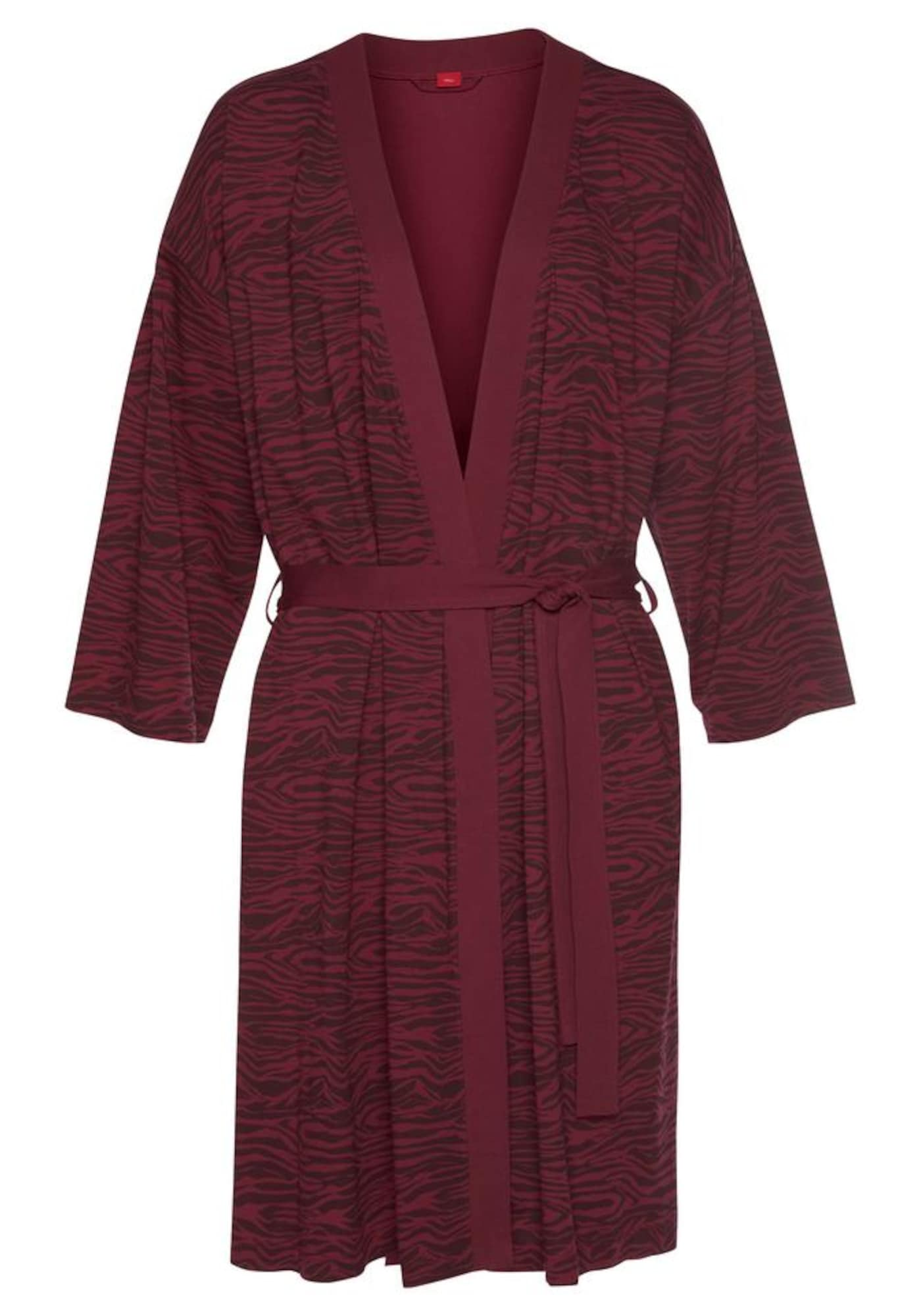 s.Oliver Kimono vyno raudona spalva