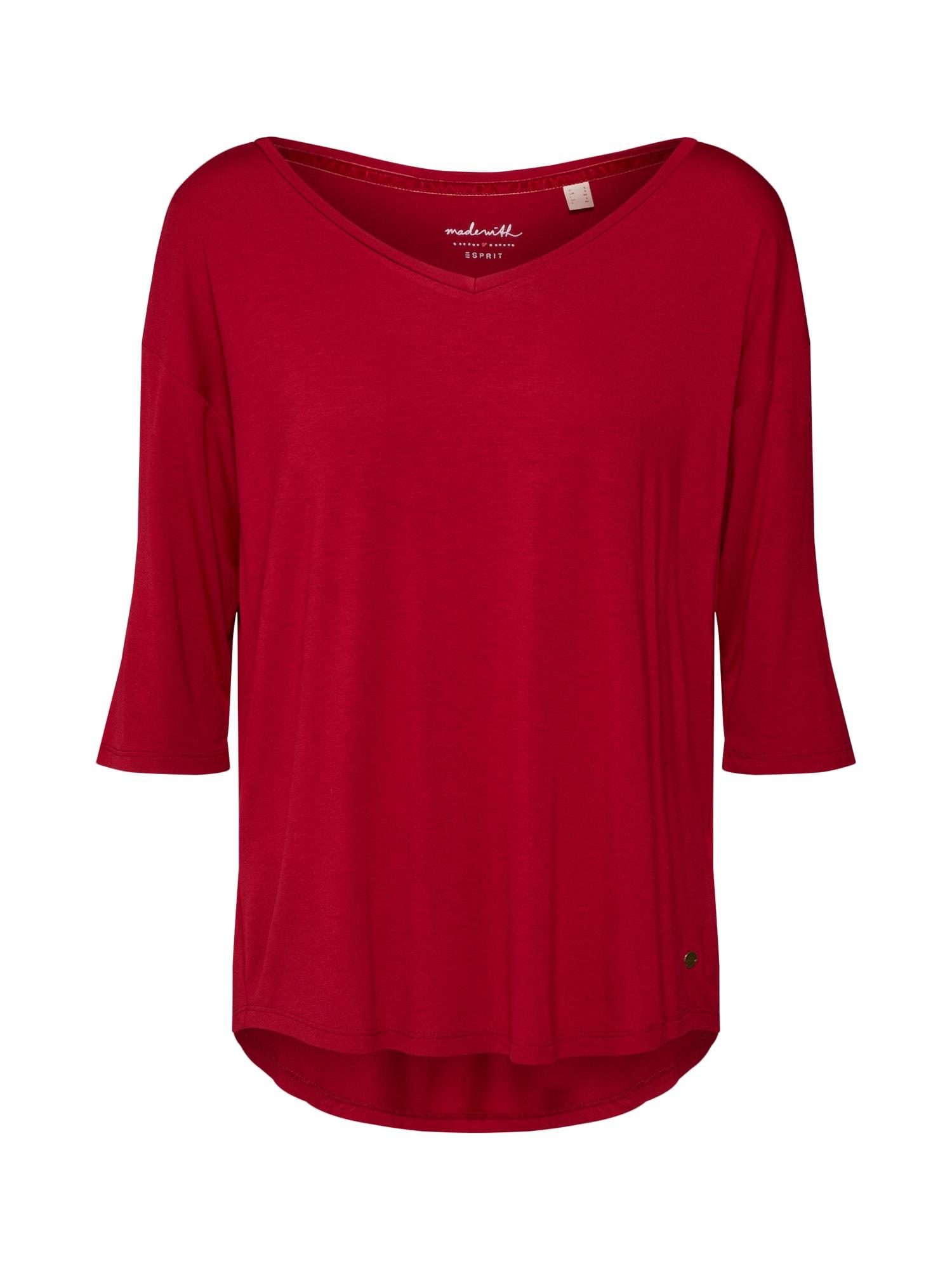 Tričko ohnivá červená ESPRIT