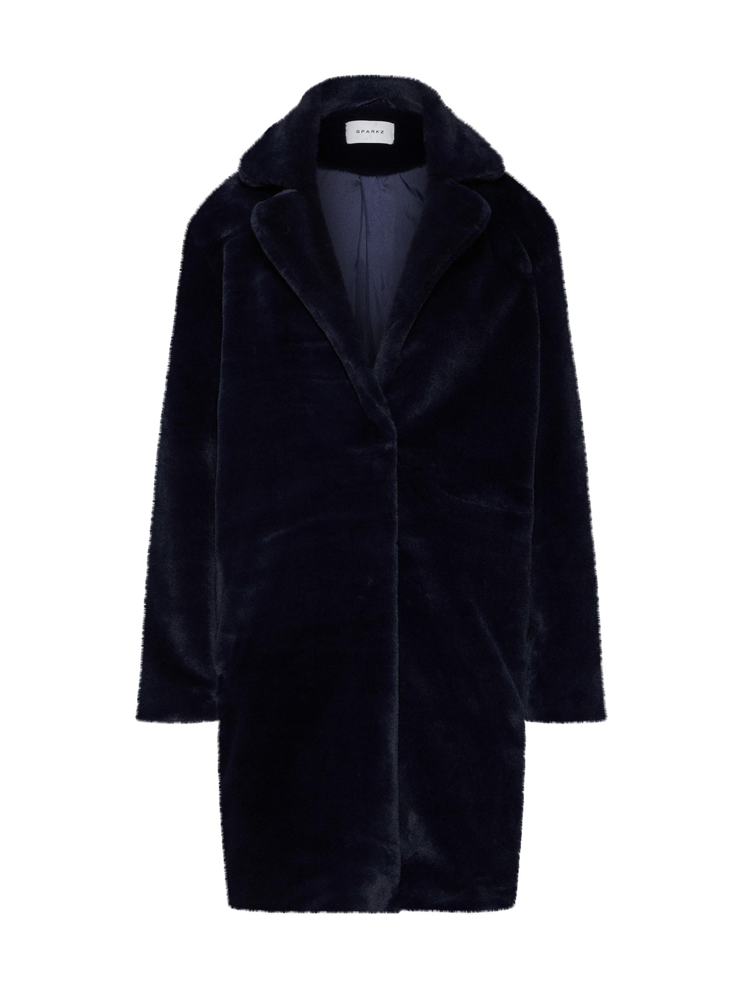 Zimní kabát námořnická modř Sparkz