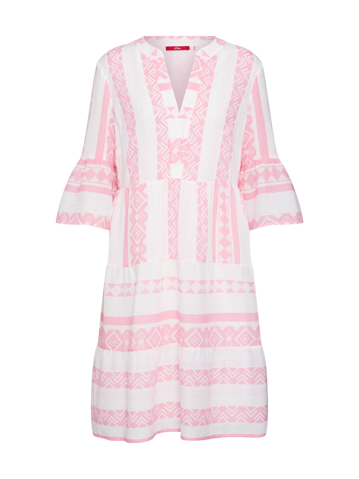 Šaty mix barev pink S.Oliver RED LABEL