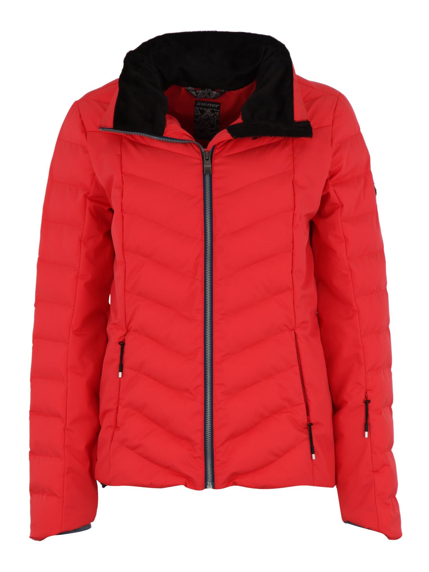 Sportovní bunda červená ZIENER