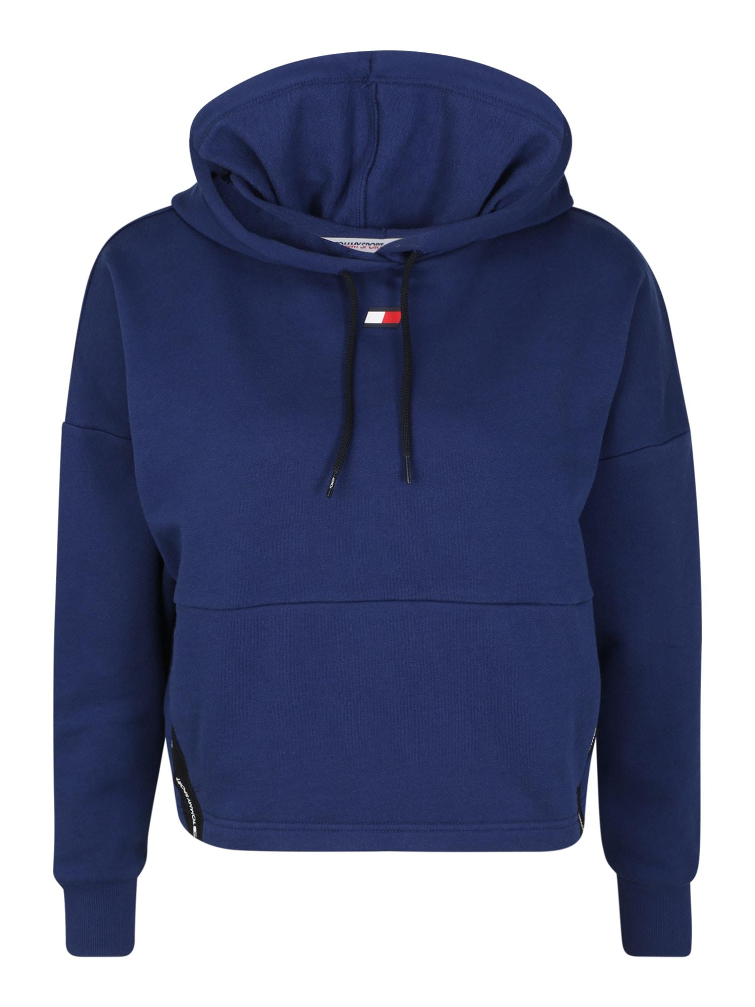 Tommy Sport Sportinio tipo megztinis tamsiai mėlyna