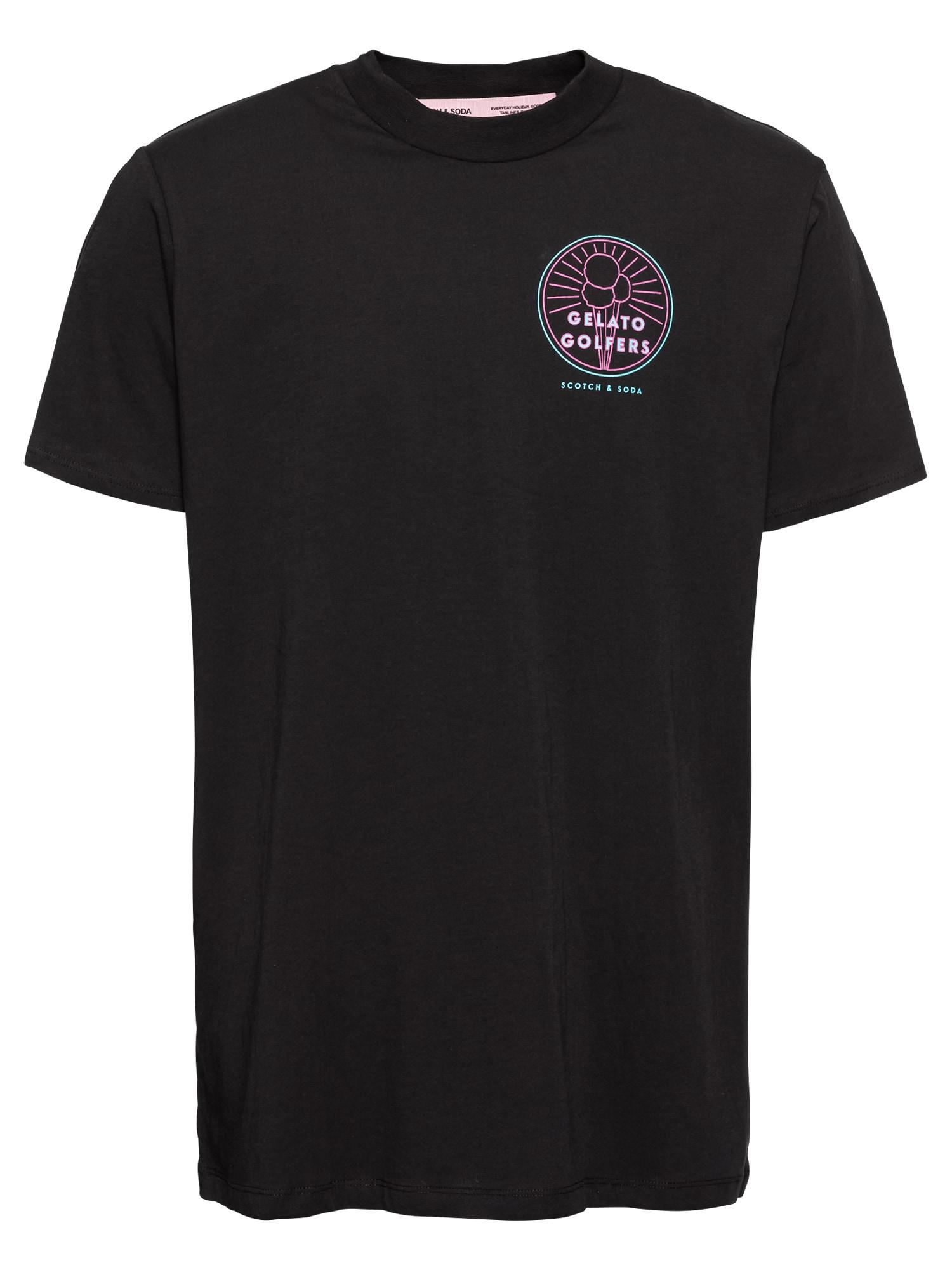Tričko mátová bobule černá SCOTCH & SODA