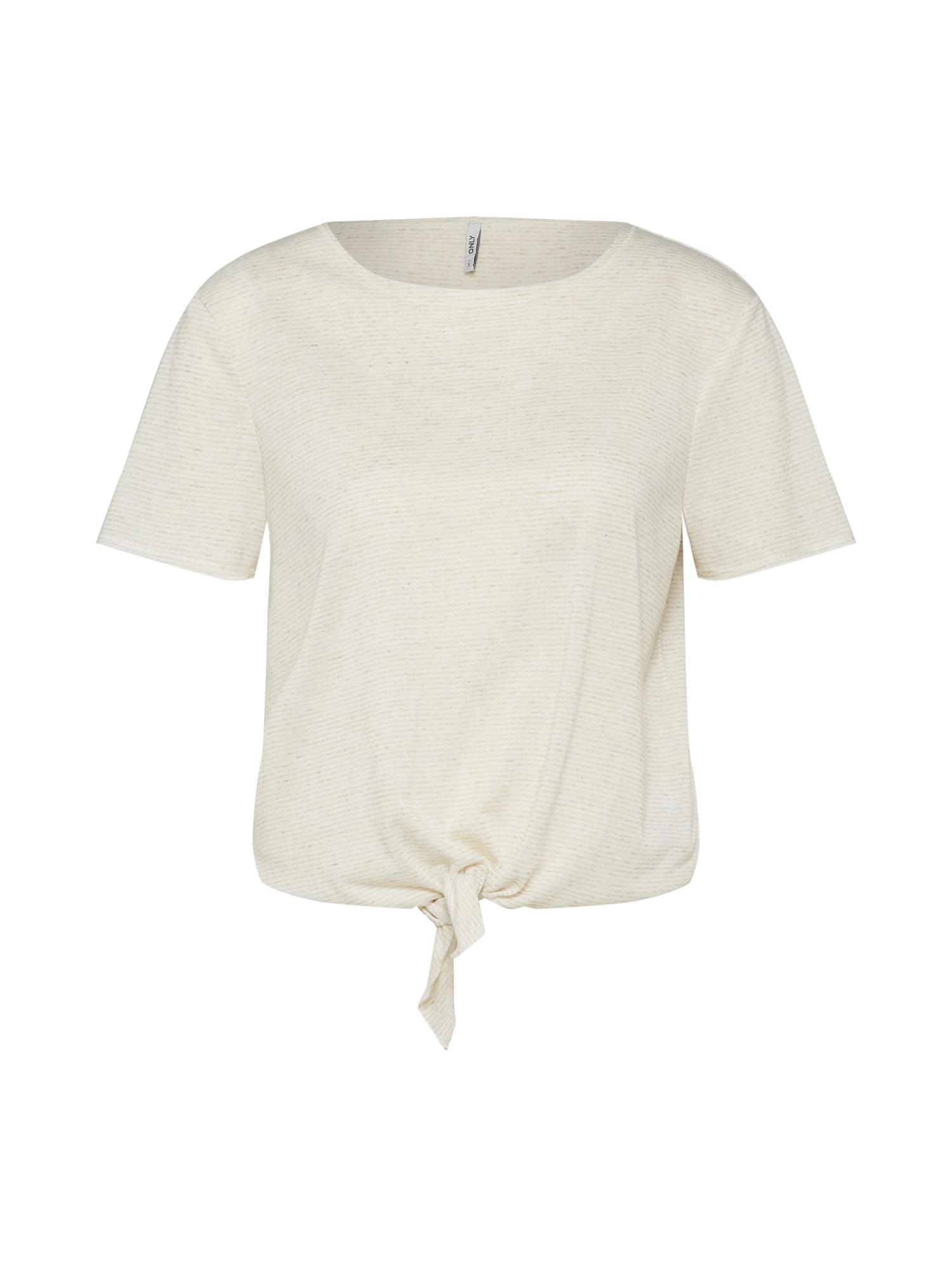 Tričko onlLINA béžová ONLY