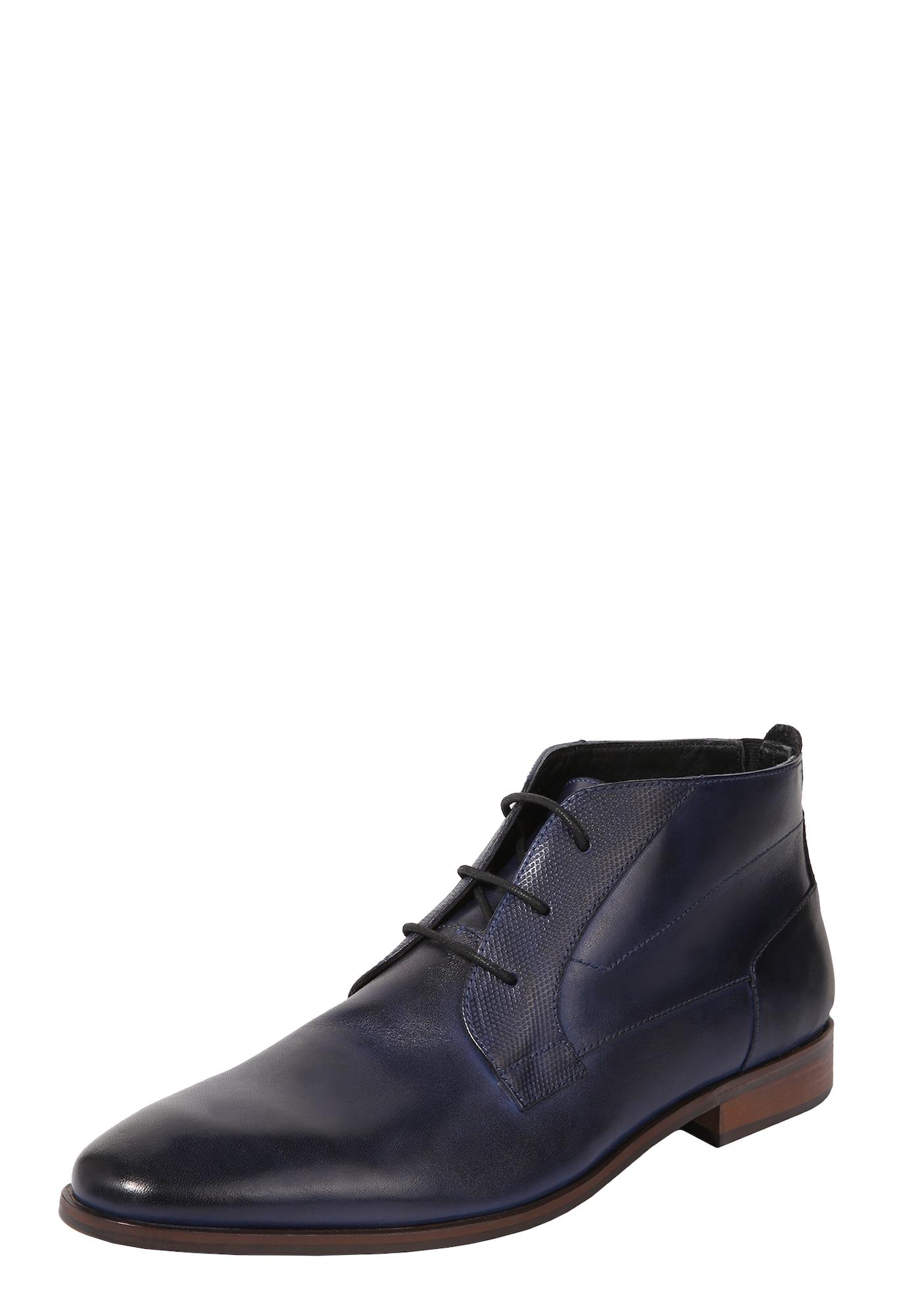 Šněrovací boty Joshua námořnická modř ABOUT YOU