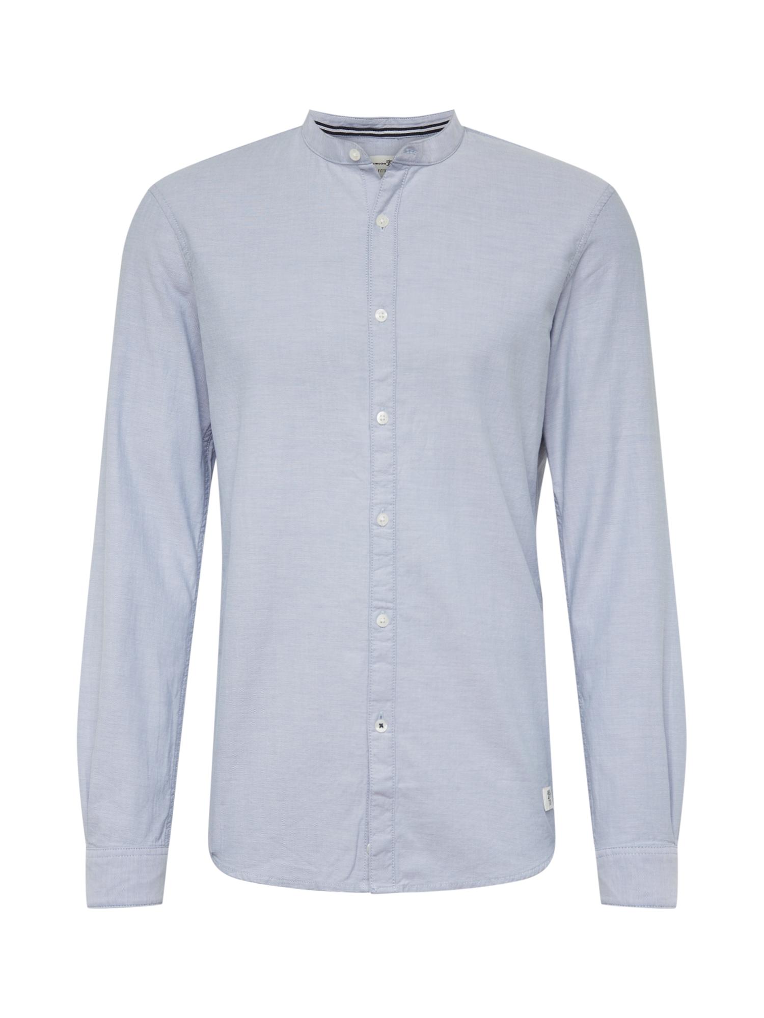 TOM TAILOR DENIM Společenská košile  modrá