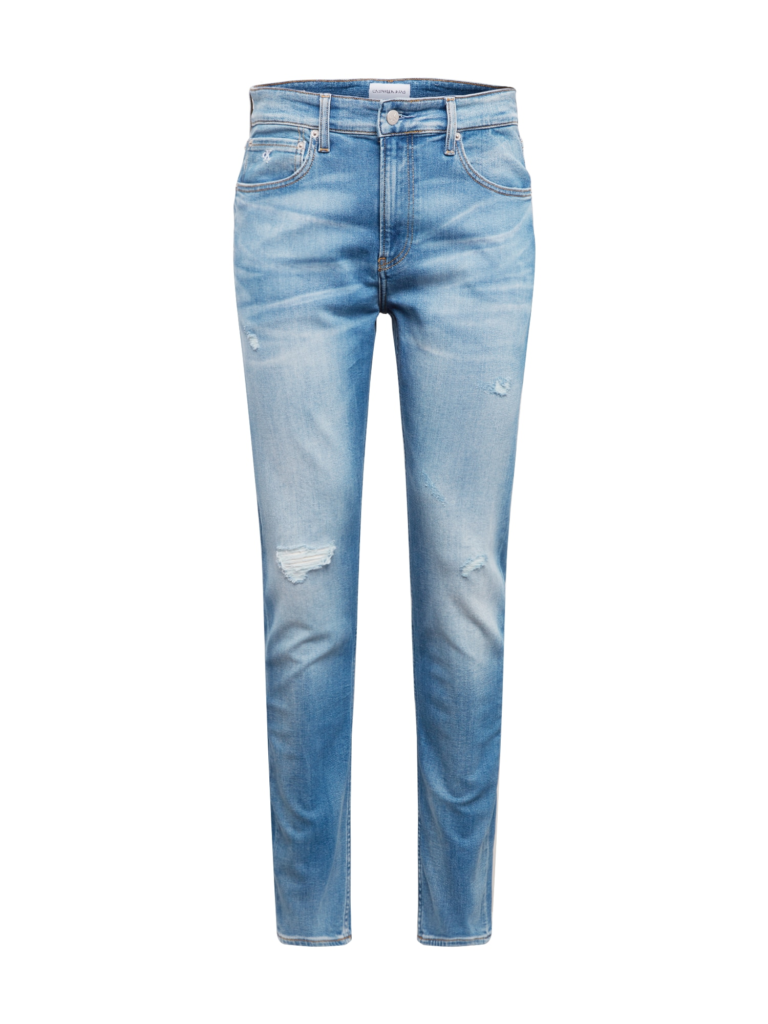 Calvin Klein Jeans Džinsai 'CKJ 058 SLIM TAPER' tamsiai (džinso) mėlyna