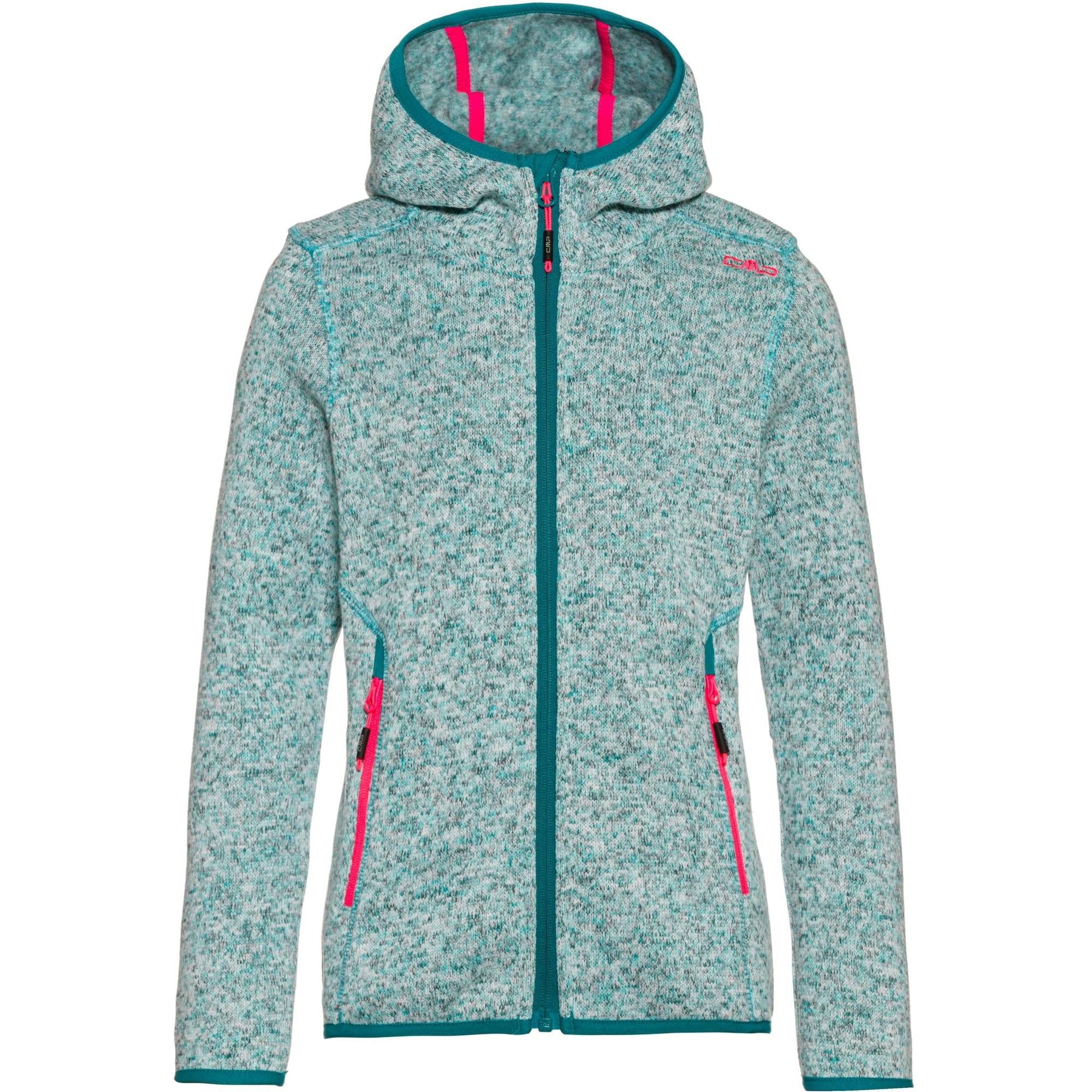 CMP Funkcinis flisinis džemperis rožinė / mėtų spalva