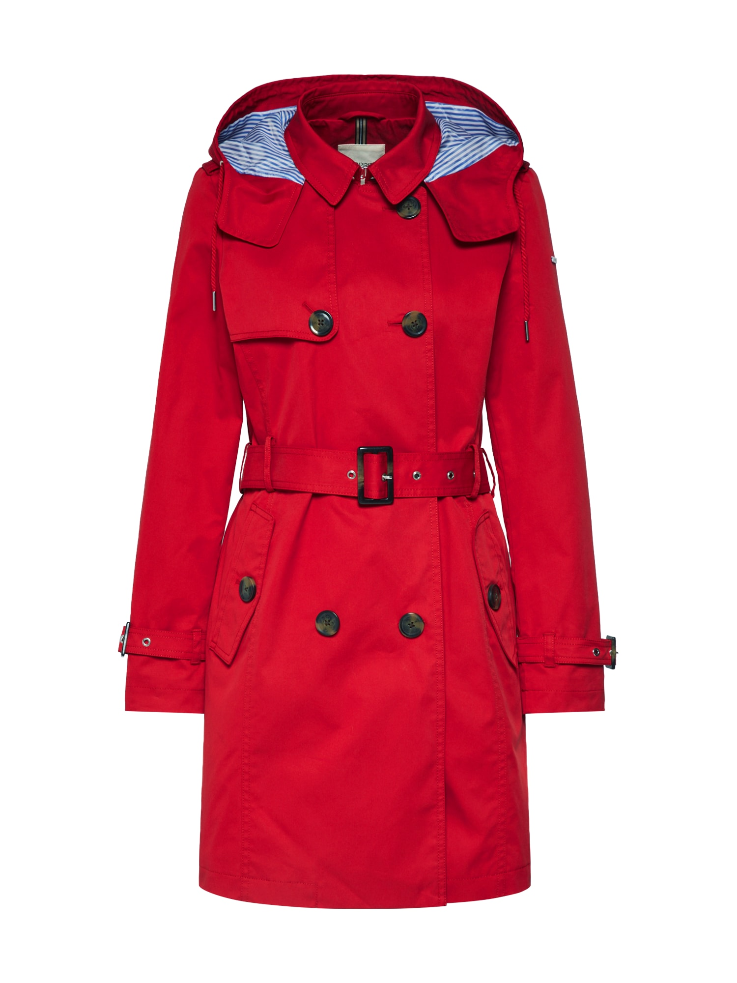 ESPRIT Rudeninis-žieminis paltas 'Classic Trench' raudona