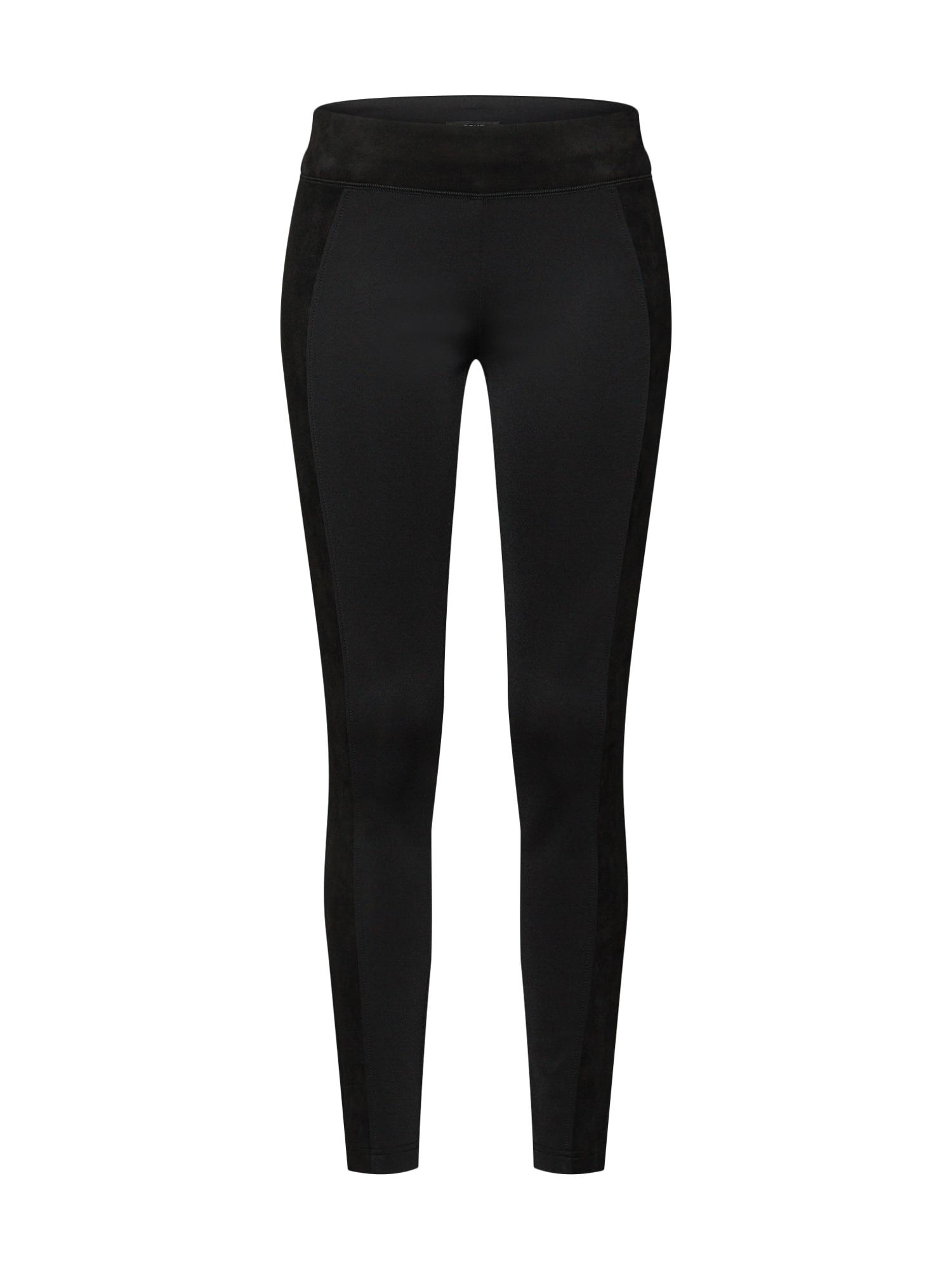 Kalhoty Elin černá OPUS