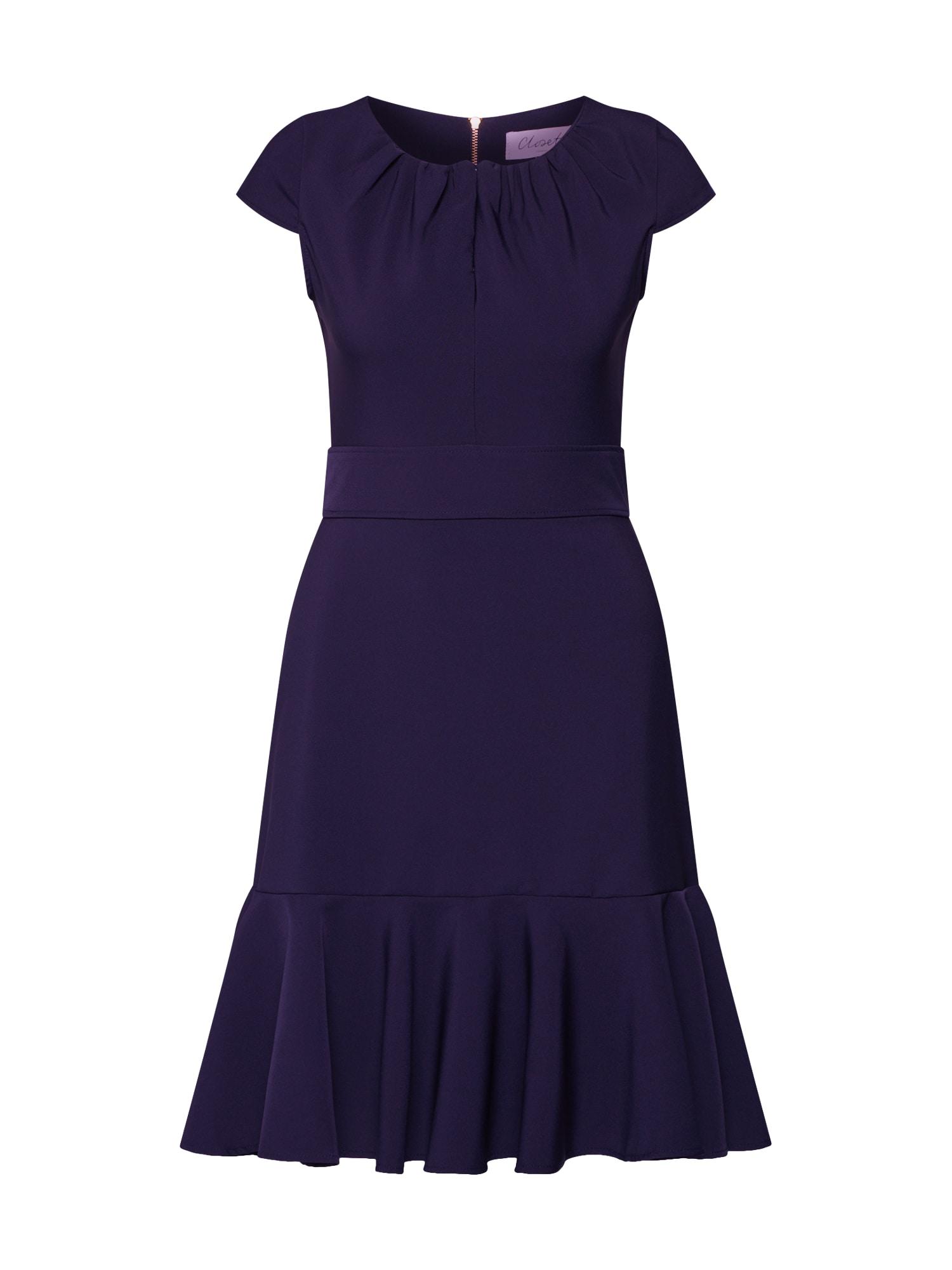 Šaty námořnická modř Closet London