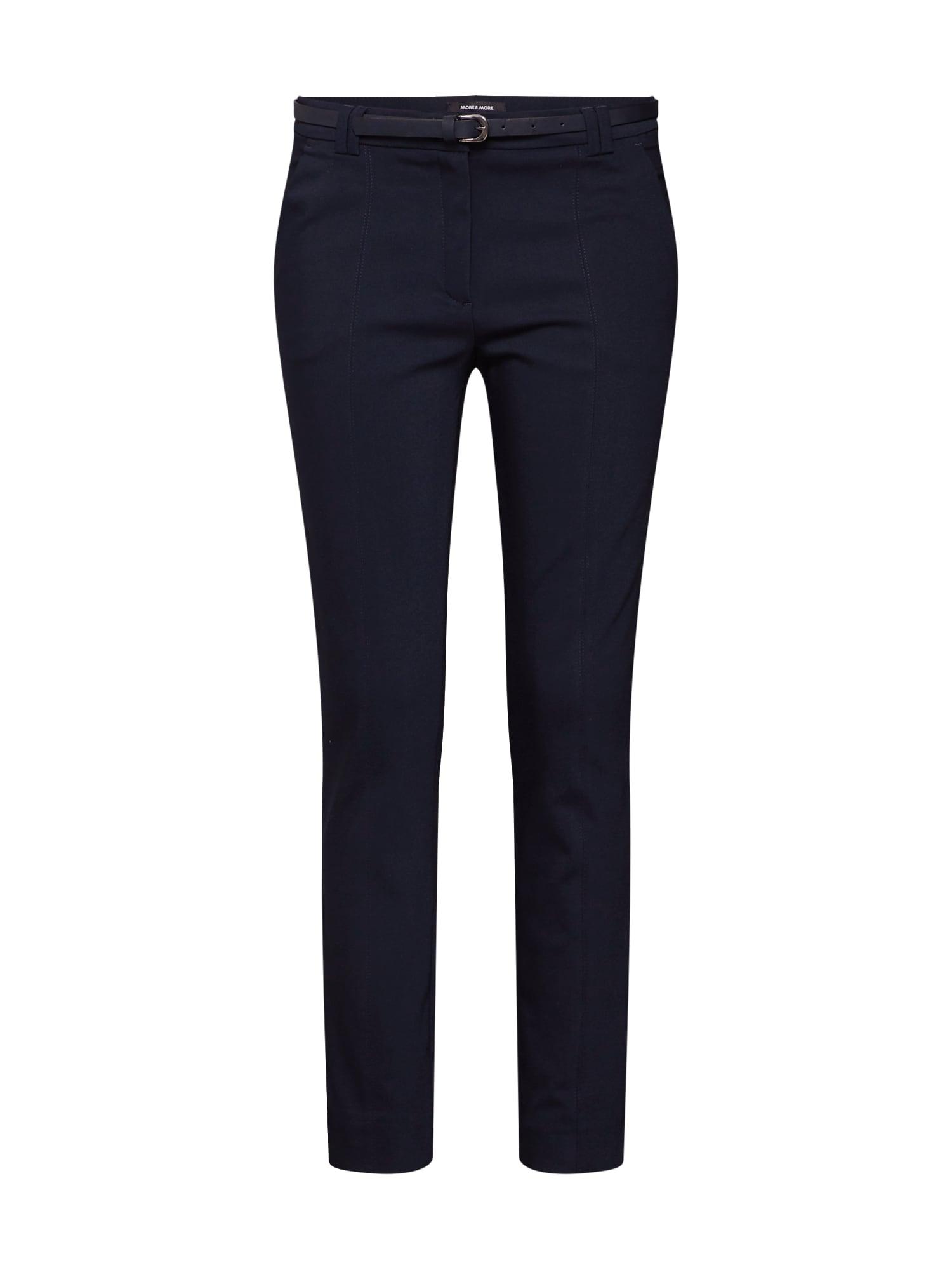 Kalhoty marine modrá MORE & MORE