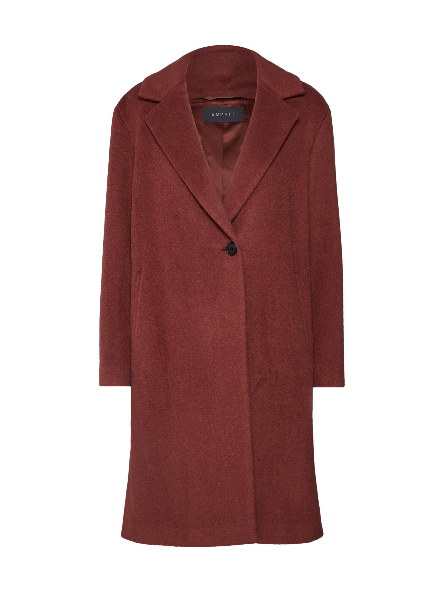 Přechodný kabát červená Esprit Collection