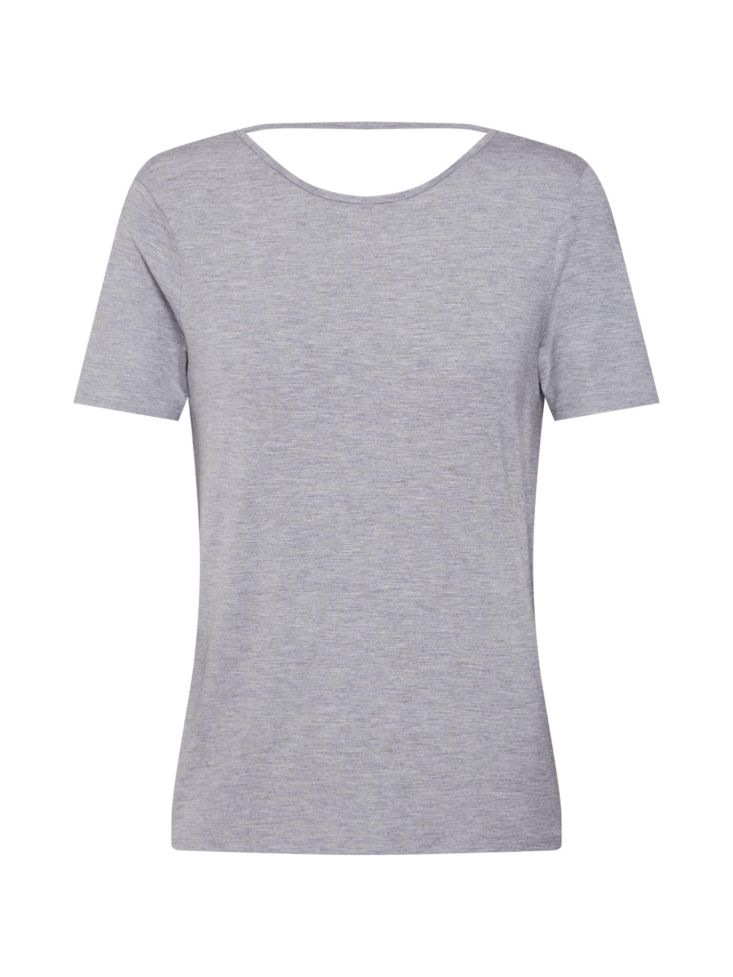 Tričko BEHANNA šedý melír Noisy May