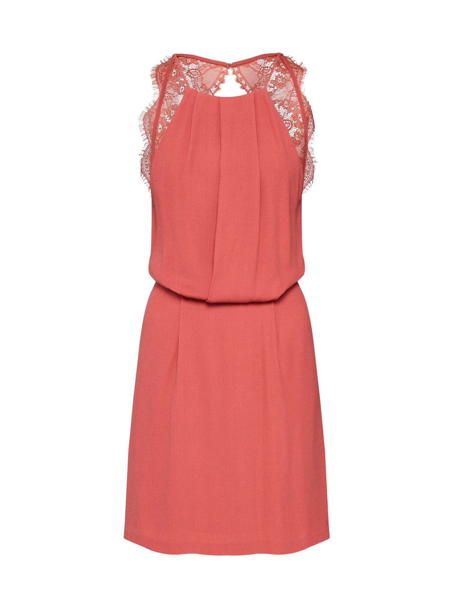 Koktejlové šaty Willow 5687 červená Samsoe & Samsoe