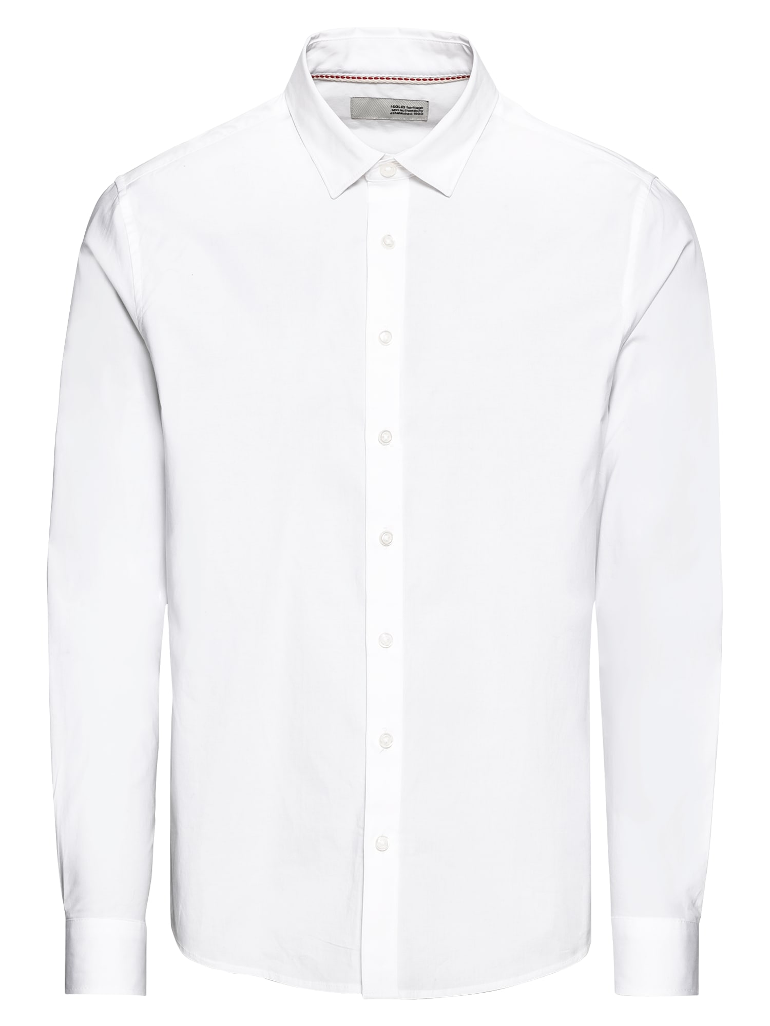 Košile Shirt - Tyler LS bílá !Solid
