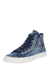 REPLAY Damen Sneaker EDNA blau   08056741154146