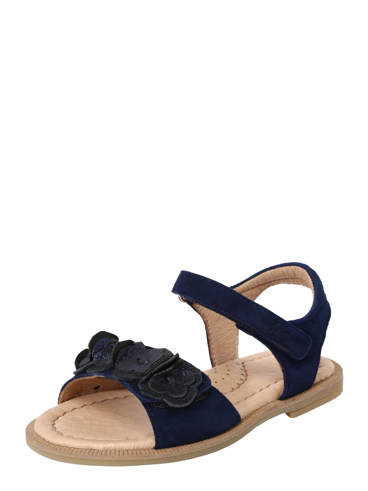 Sandály modrá Clic