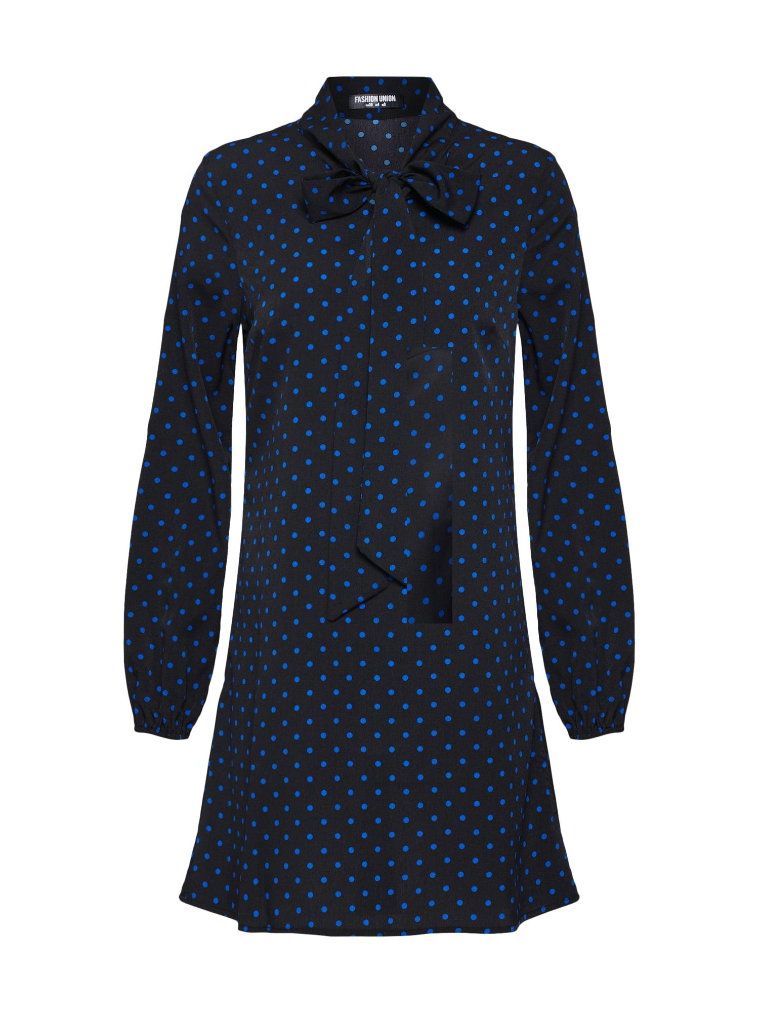 Košilové šaty PJ modrá Fashion Union