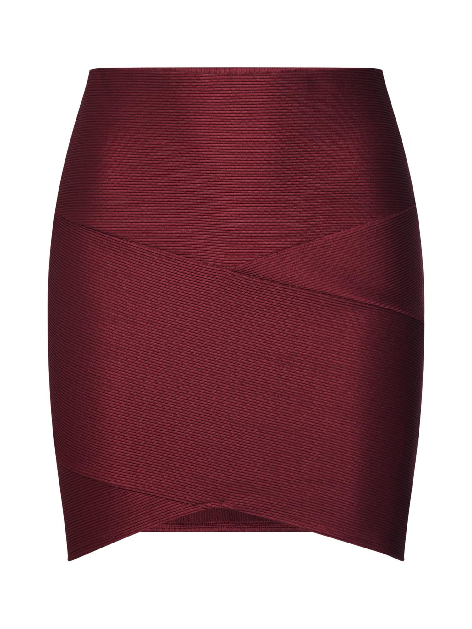 ABOUT YOU Sijonas 'Fabia Skirt' vyšninė spalva