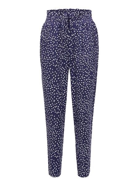 Hosen für Frauen - Hose 'RAJNA 9789' › BROADWAY NYC FASHION › dunkelblau weiß  - Onlineshop ABOUT YOU