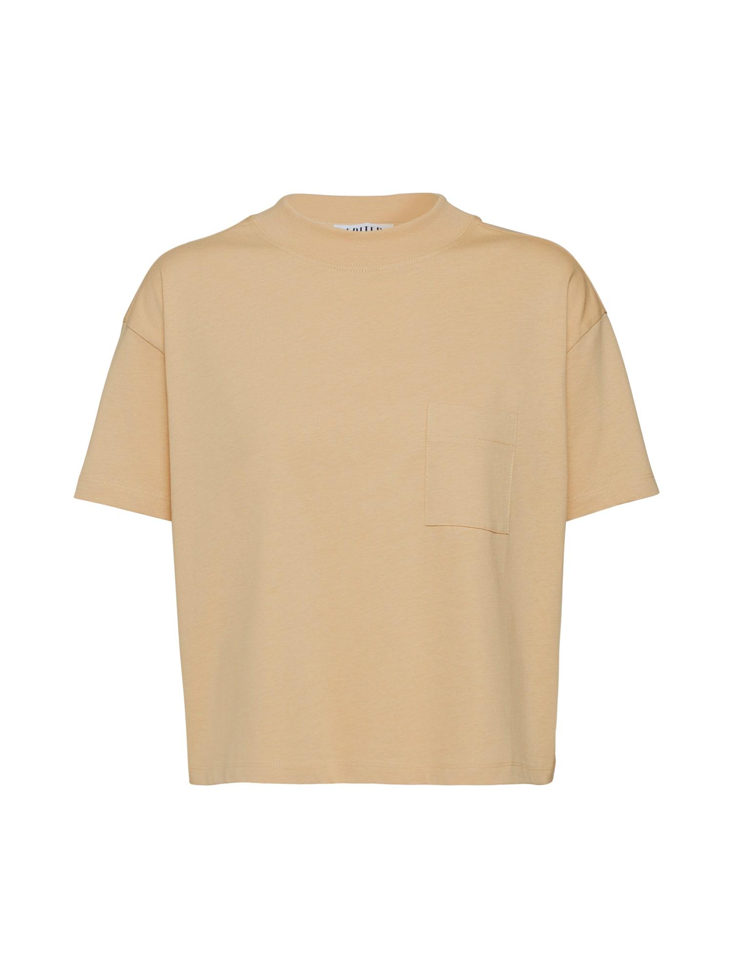 EDITED Marškinėliai 'Jackie' smėlio