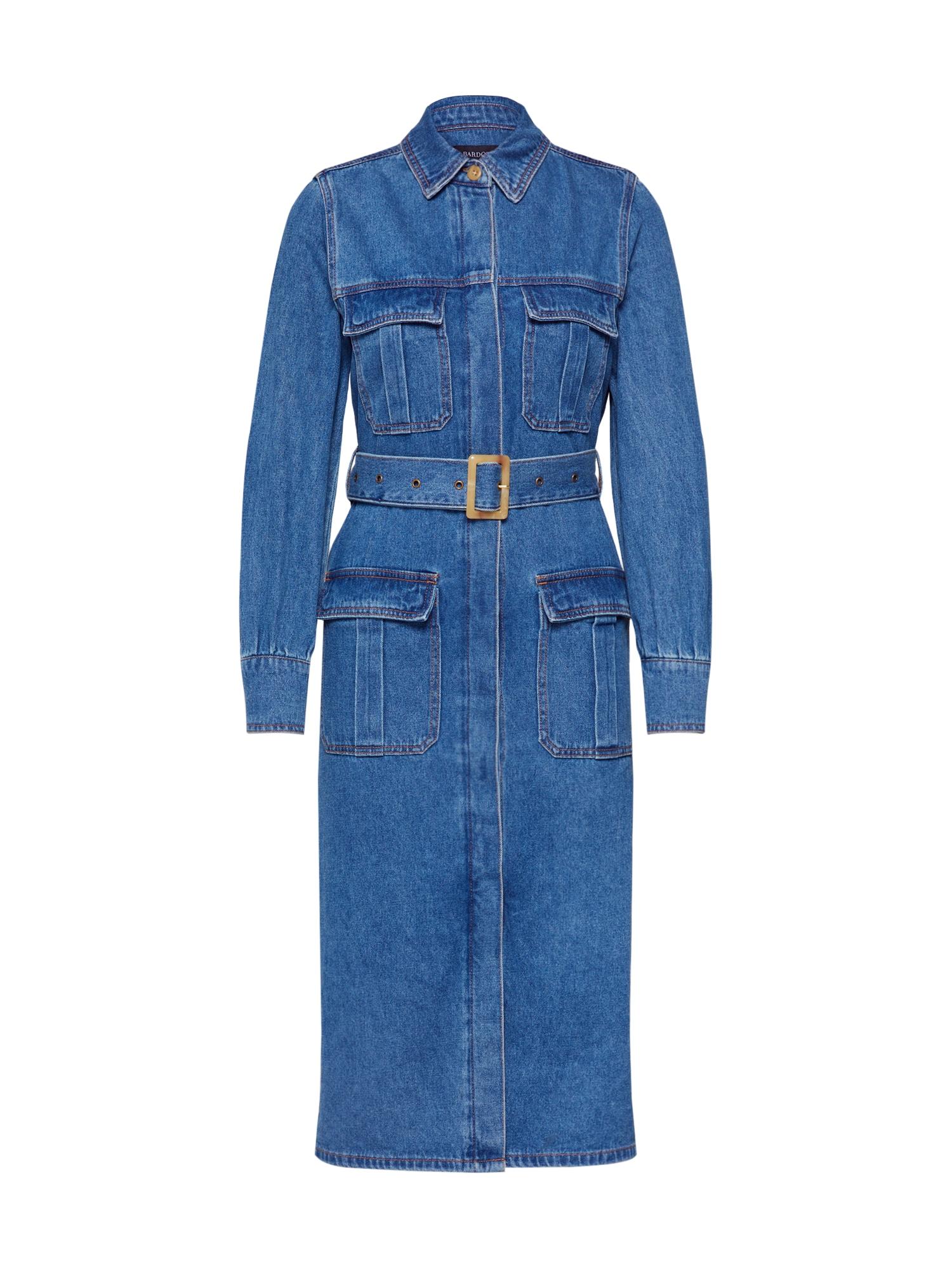 Bardot Palaidinės tipo suknelė tamsiai (džinso) mėlyna