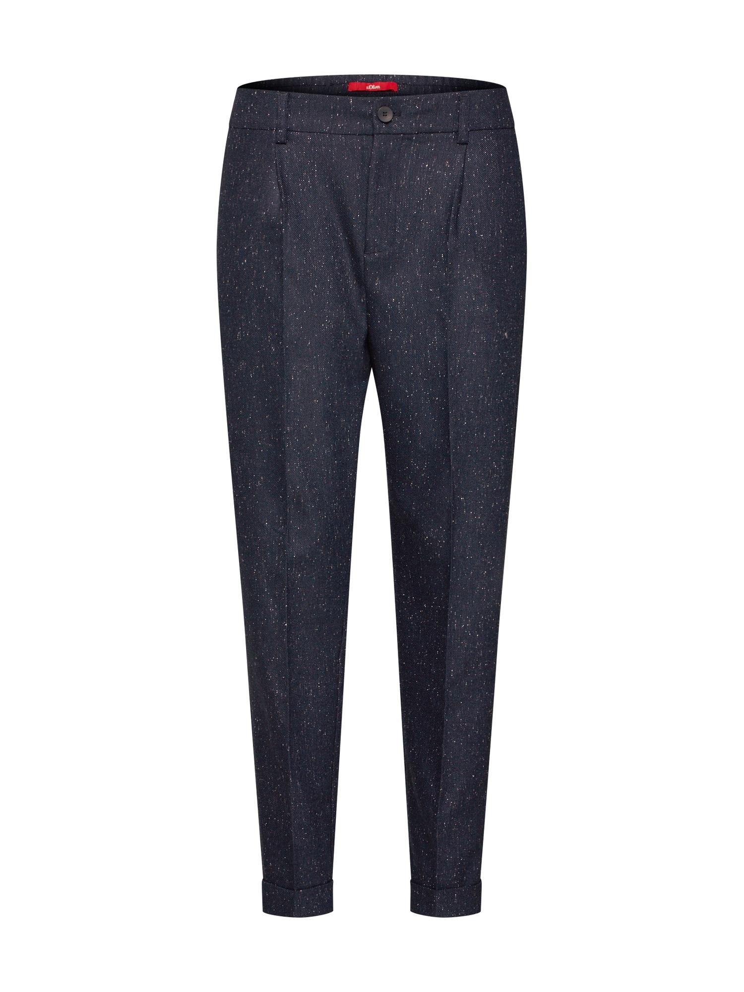 Kalhoty Tweed-Chino námořnická modř S.Oliver RED LABEL