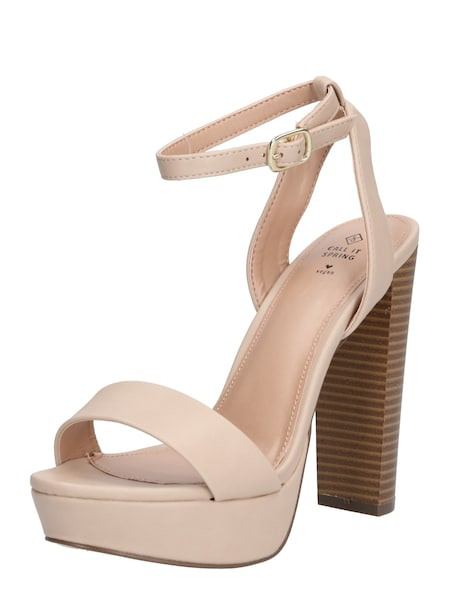 Highheels - Sandale 'HAAUDIA' › CALL IT SPRING › nude  - Onlineshop ABOUT YOU