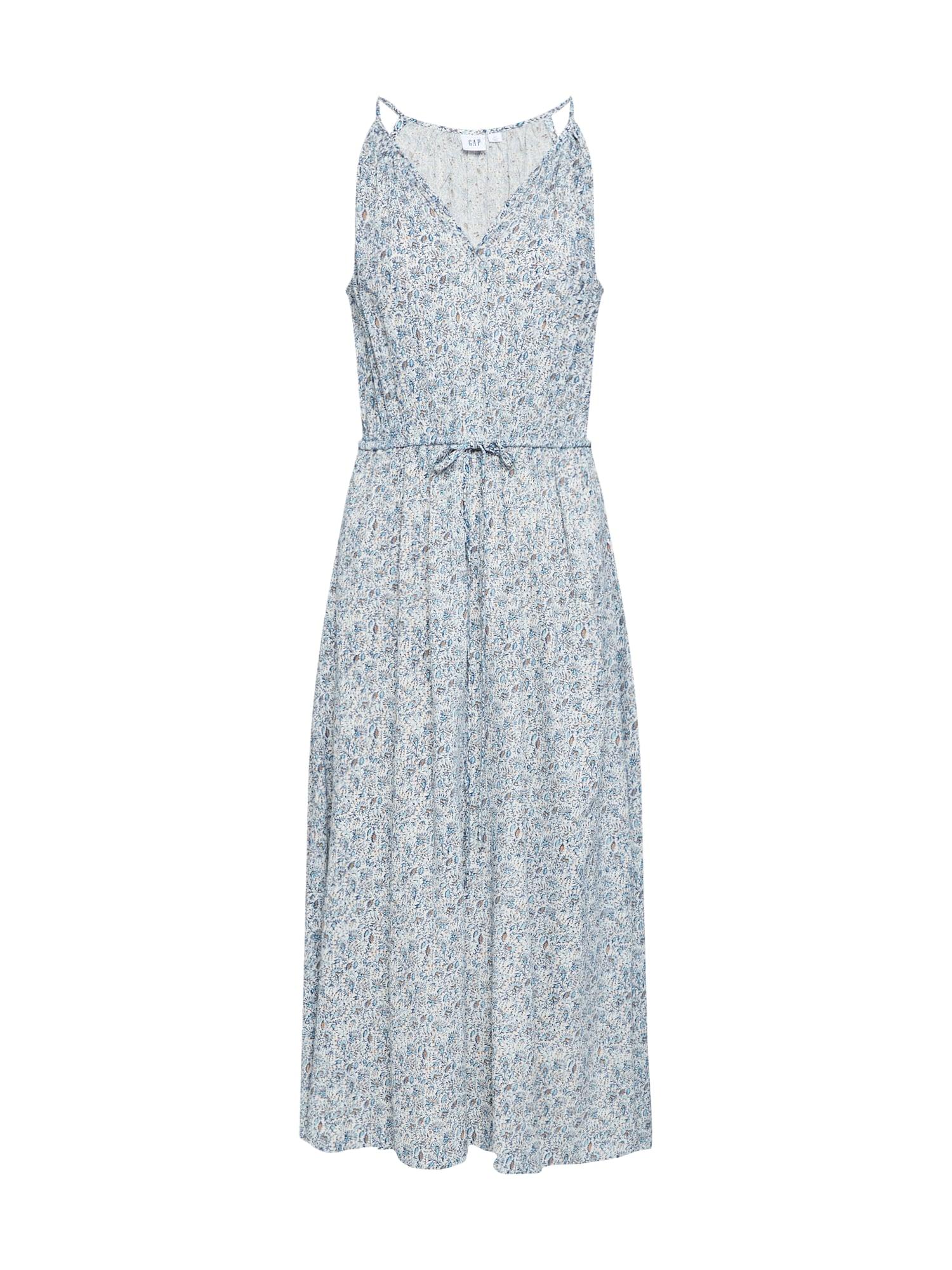 GAP Vasarinė suknelė 'HALTER DRESS' mėlyna / mišrios spalvos