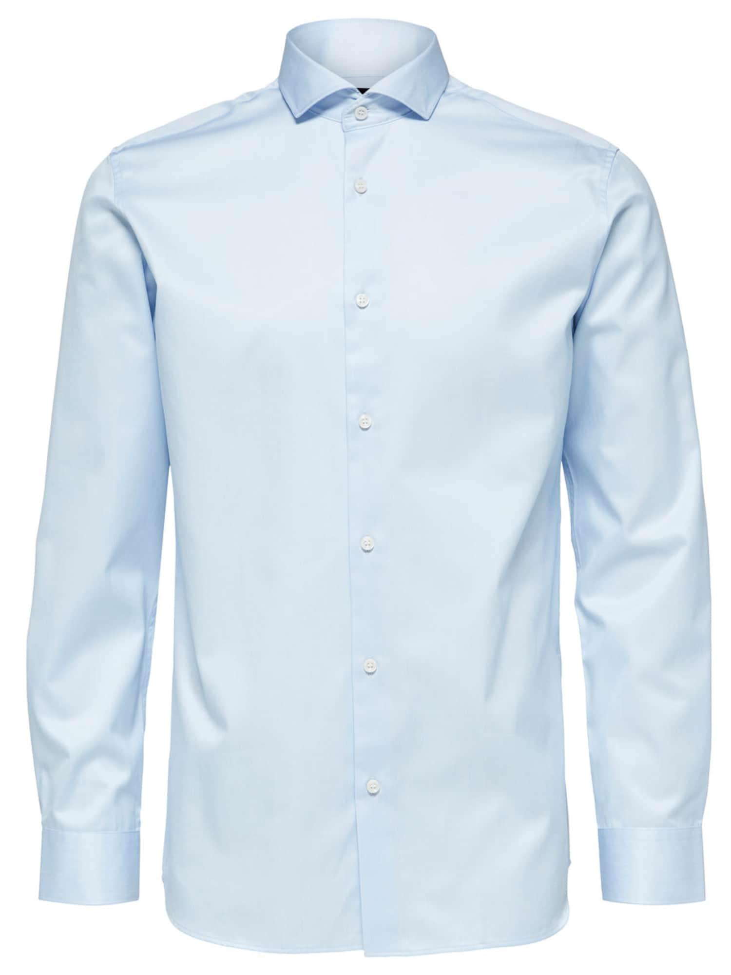 SELECTED HOMME Dalykinio stiliaus marškiniai šviesiai mėlyna