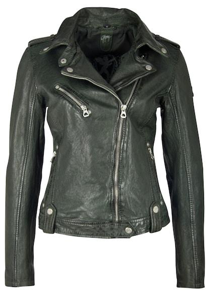 Jacken für Frauen - Gipsy Lederjacke 'FAMOS W19 LAOSV' grün  - Onlineshop ABOUT YOU