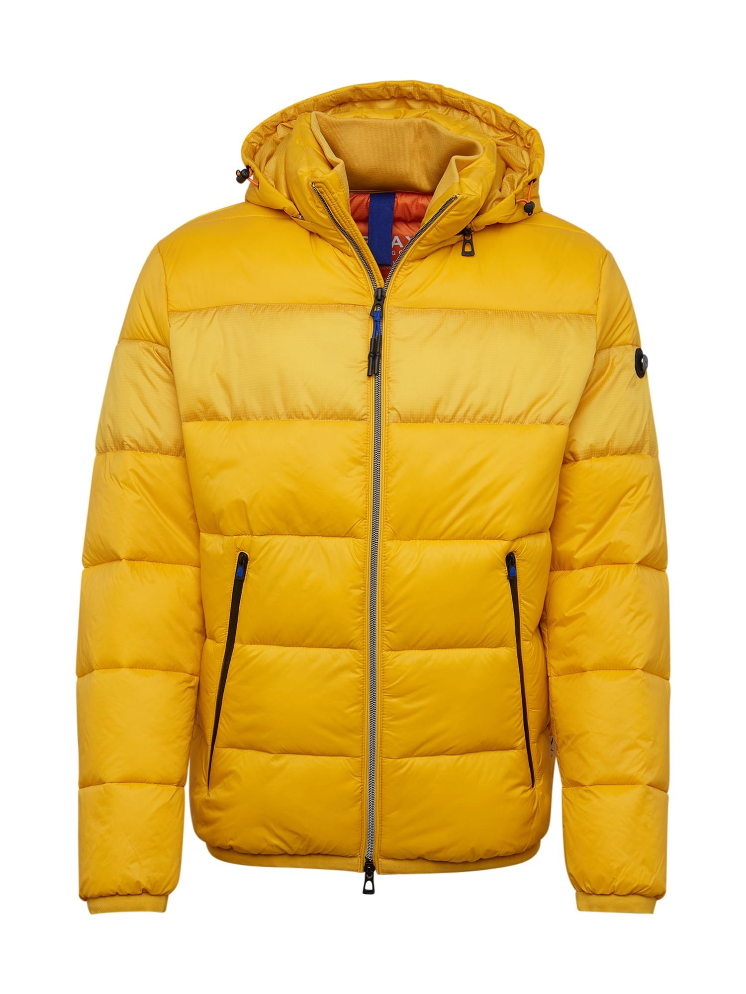 BRAX Prechodná bunda 'Marco'  žltá