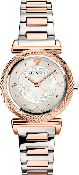 Uhren für Frauen - VERSACE Schweizer Uhr 'V MOTIF, VERE00718' rosegold silber  - Onlineshop ABOUT YOU