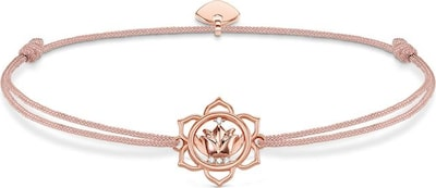 Thomas Sabo Armband 'Lotosblüte, Little Secret'