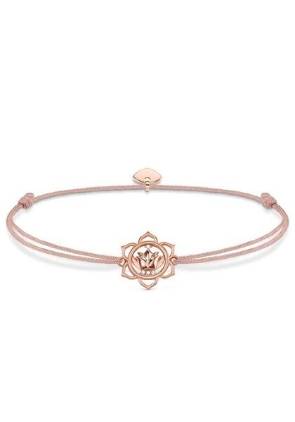 Armbaender für Frauen - Thomas Sabo Armband 'Little Secret Lotosblüte ' gold rosé  - Onlineshop ABOUT YOU