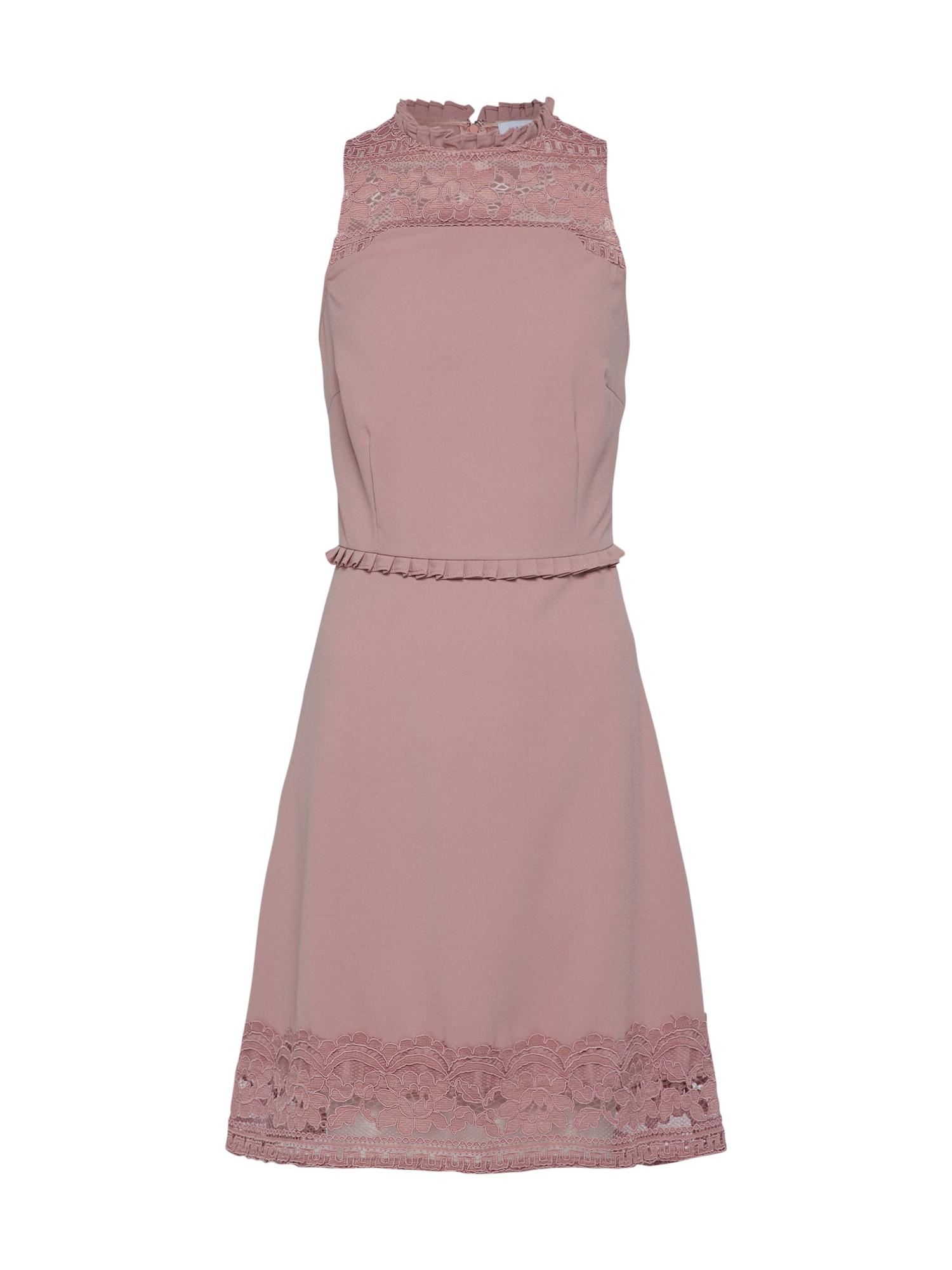 Koktejlové šaty růže Carolina Cavour