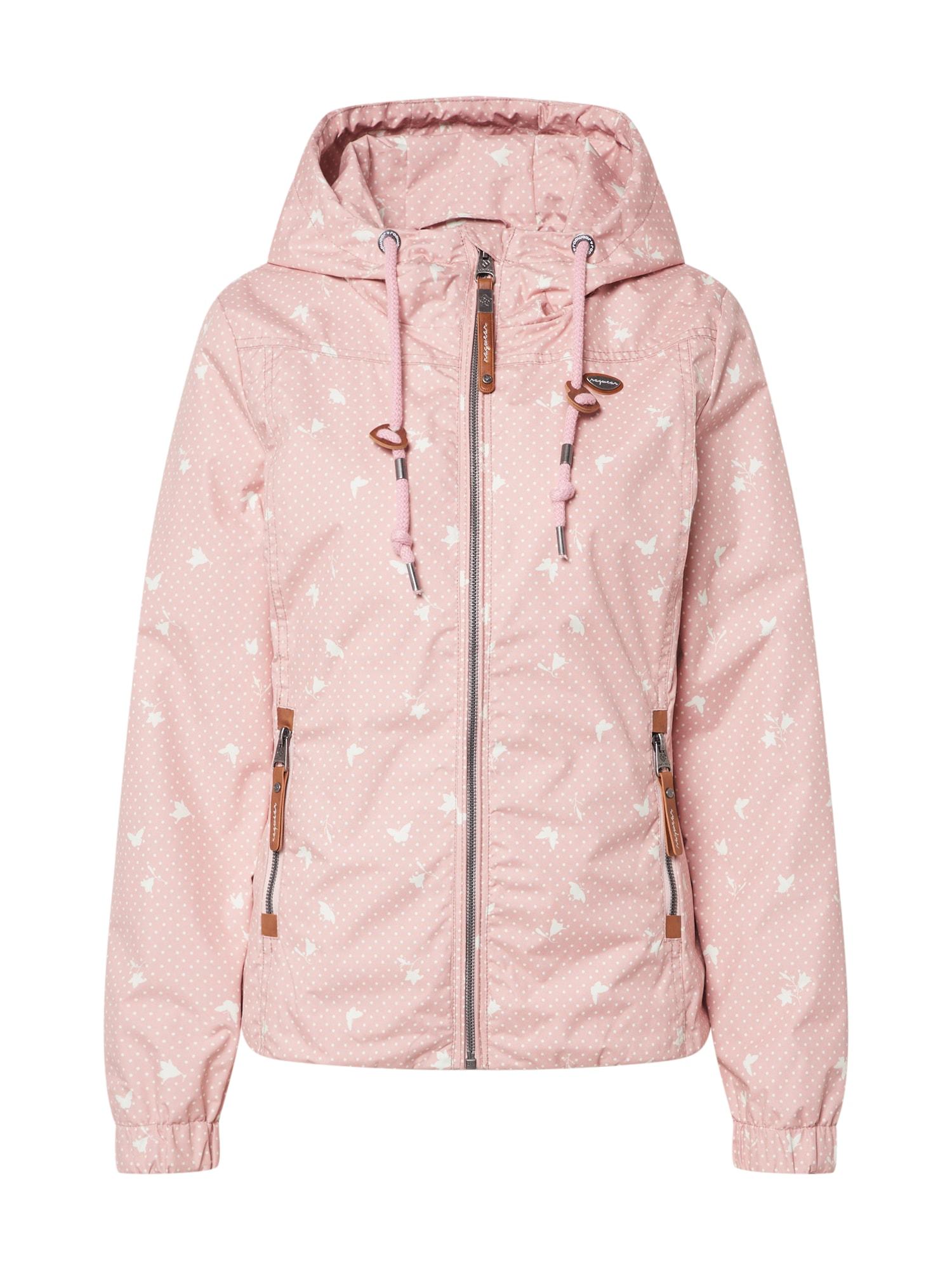 Ragwear Přechodná bunda 'DAROW PRINT'  růžová