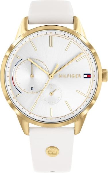 Uhren für Frauen - TOMMY HILFIGER Multifunktionsuhr 'Casual, 1782018' gold weiß  - Onlineshop ABOUT YOU