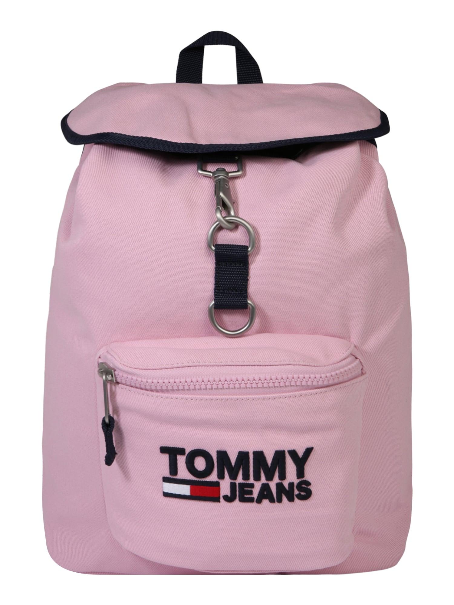 Batoh TJW Heritage růžová černá Tommy Jeans