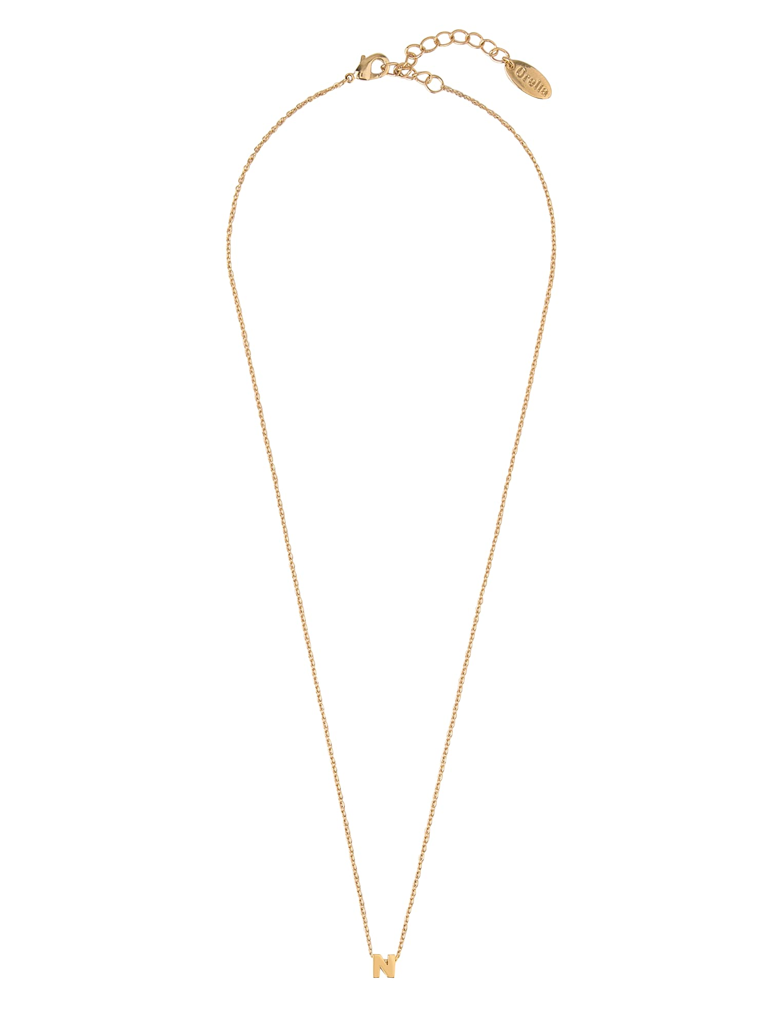 Orelia Lanțuri 'GP Initial Mint NL'  auriu