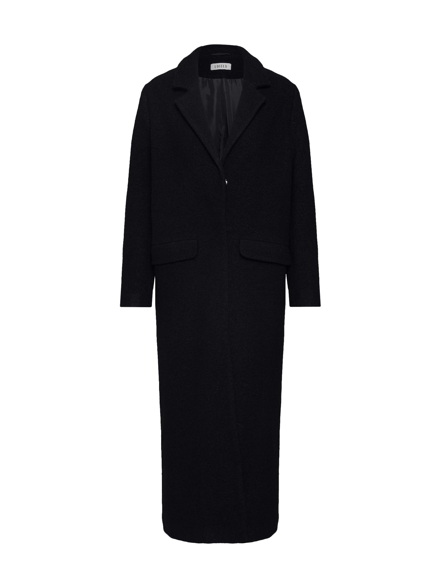 EDITED Rudeninis-žieminis paltas 'Frida' juoda
