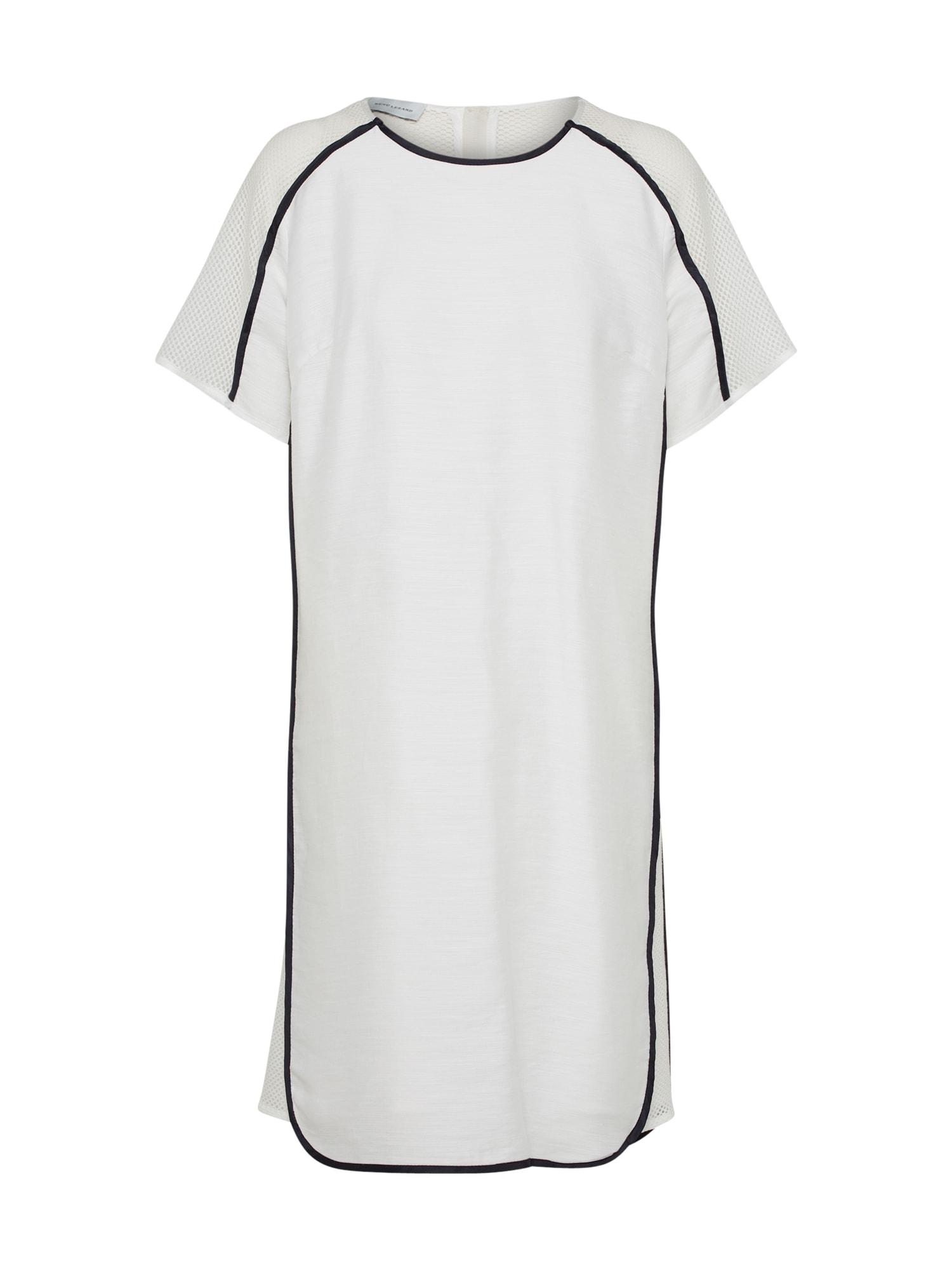 Šaty černá bílá RENÉ LEZARD