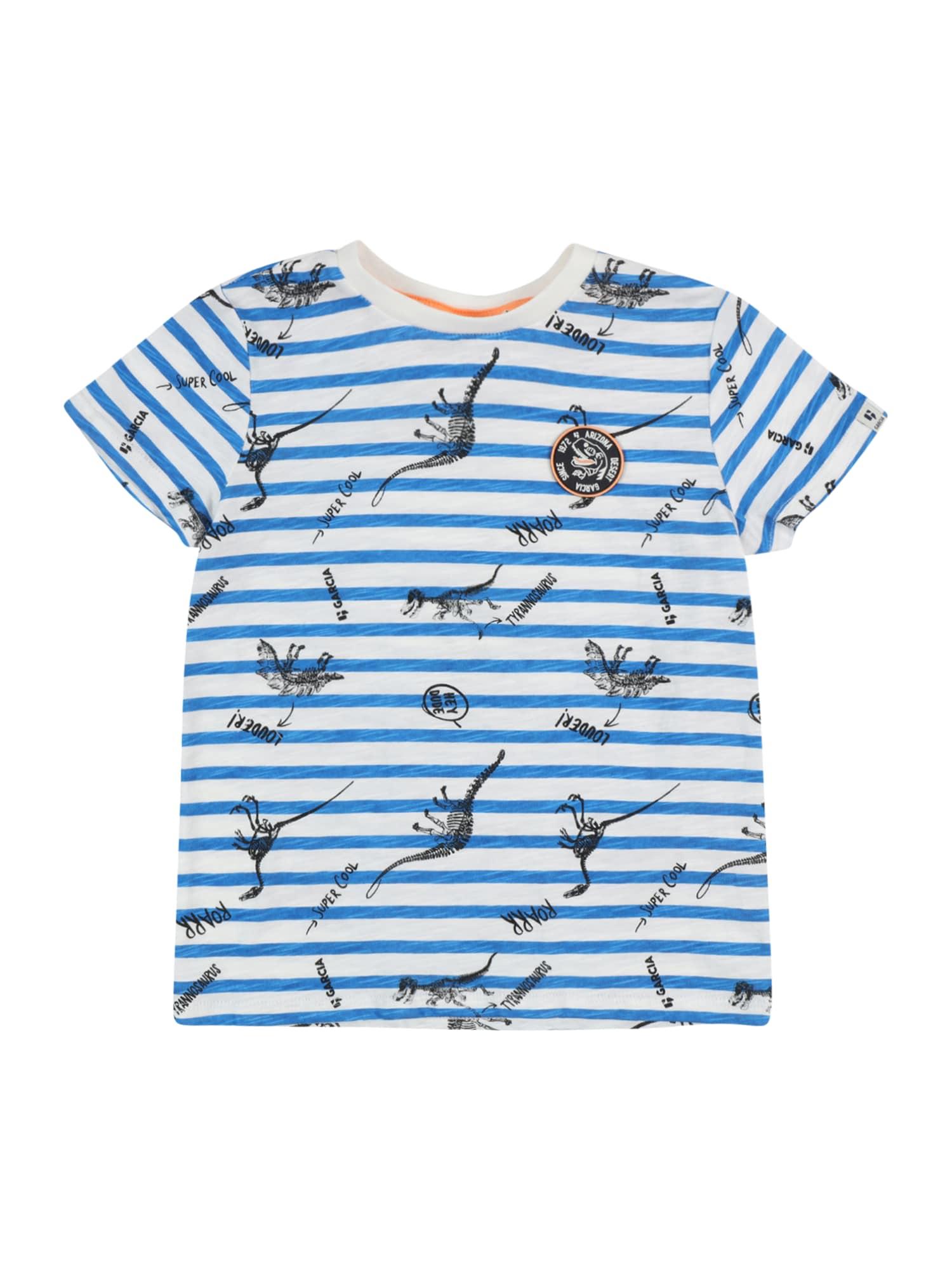 GARCIA Marškinėliai balkšva / dangaus žydra / nakties mėlyna