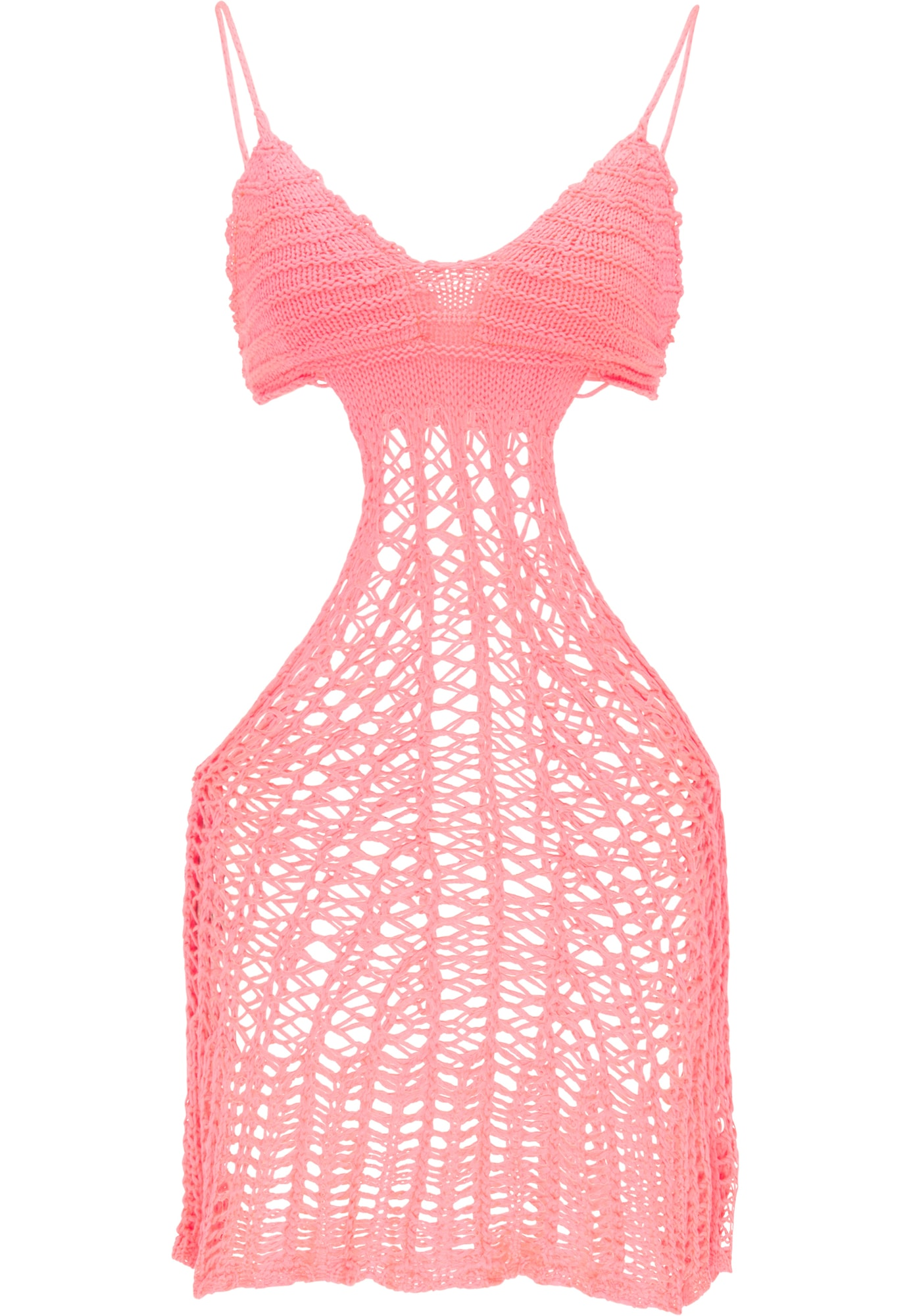 MYMO Paplūdimio suknelė šviesiai rožinė