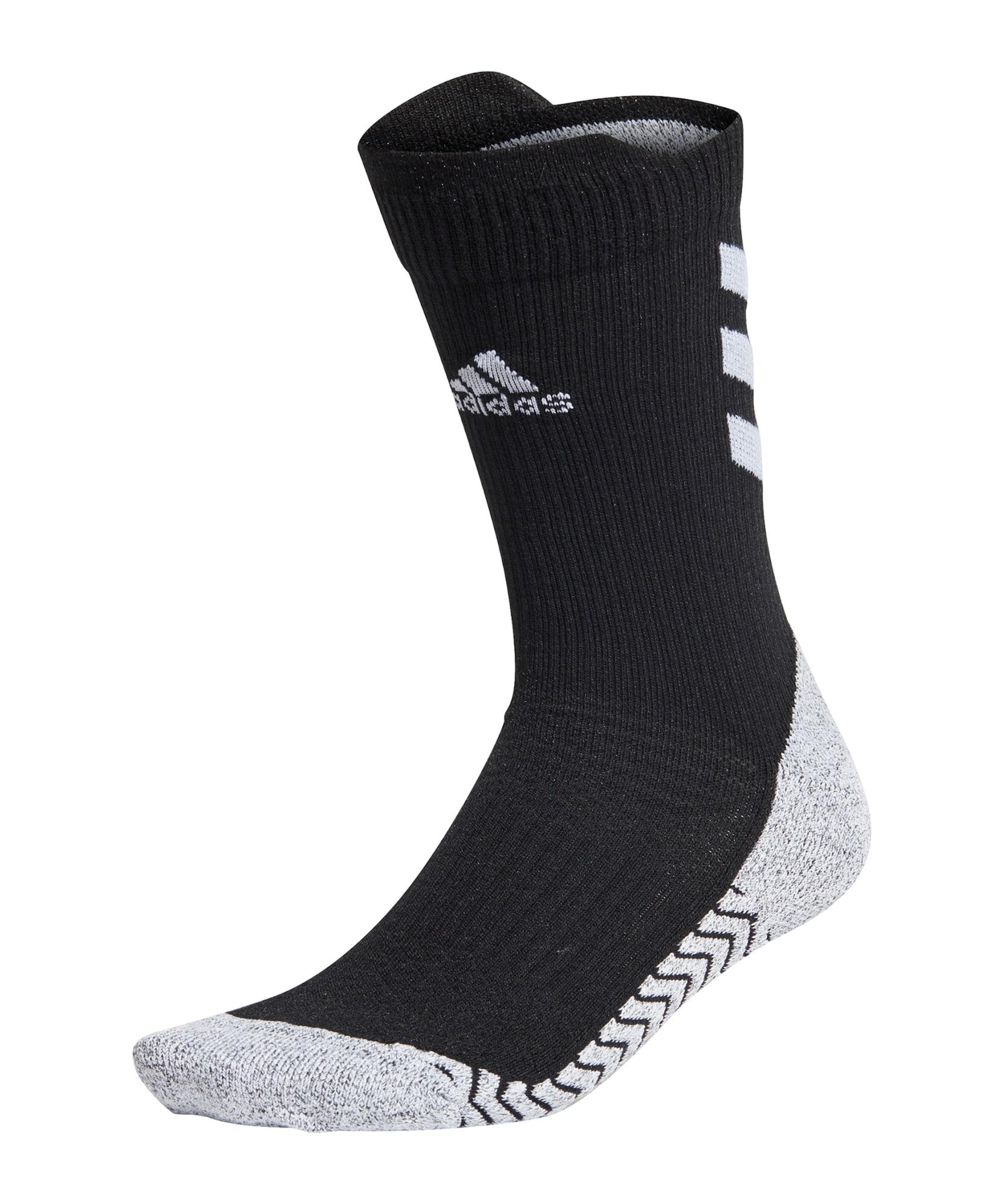 ADIDAS PERFORMANCE Sportinės kojinės 'ALPHASKIN' juoda / pilka