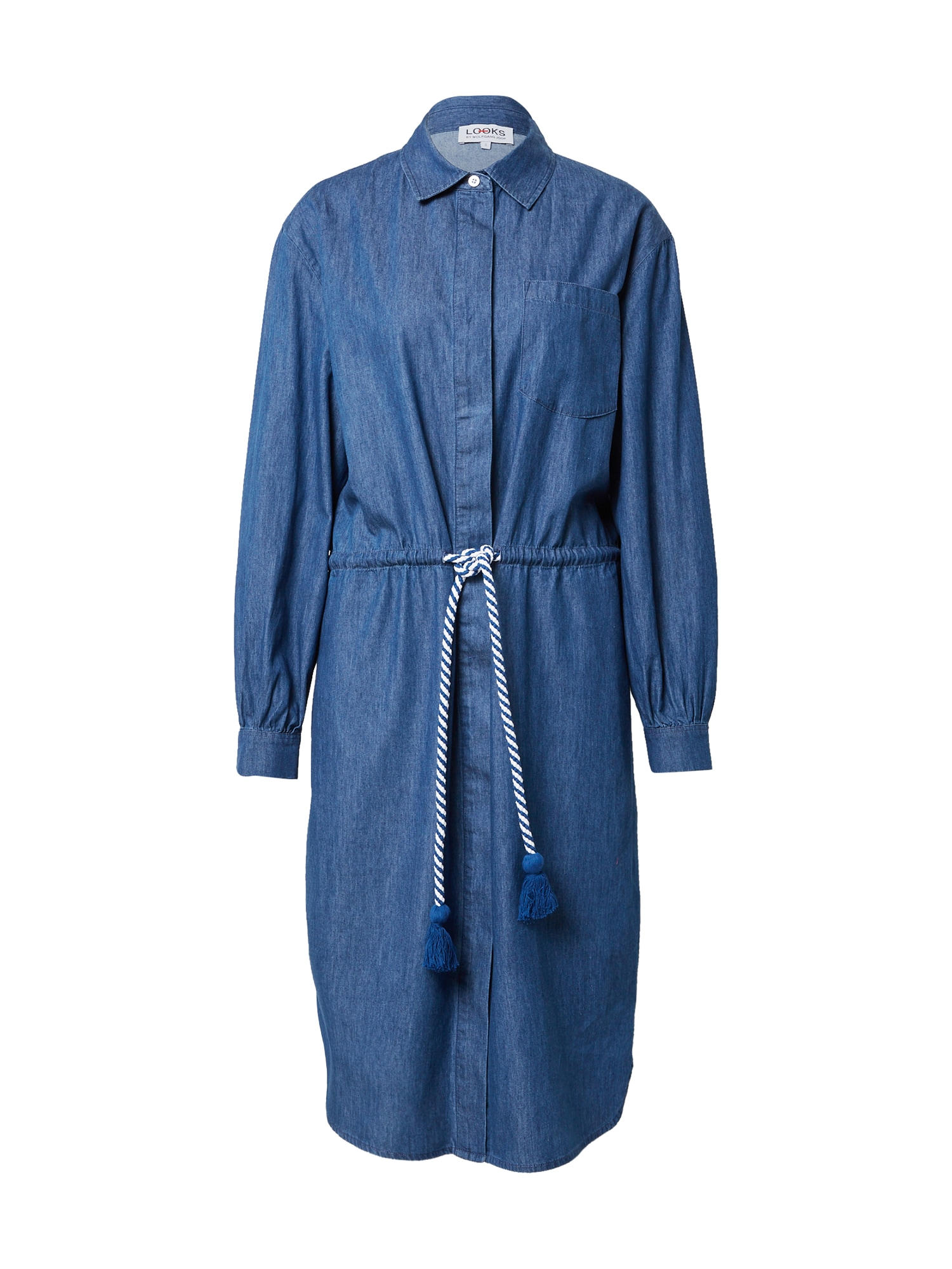 LOOKS by Wolfgang Joop Palaidinės tipo suknelė mėlyna