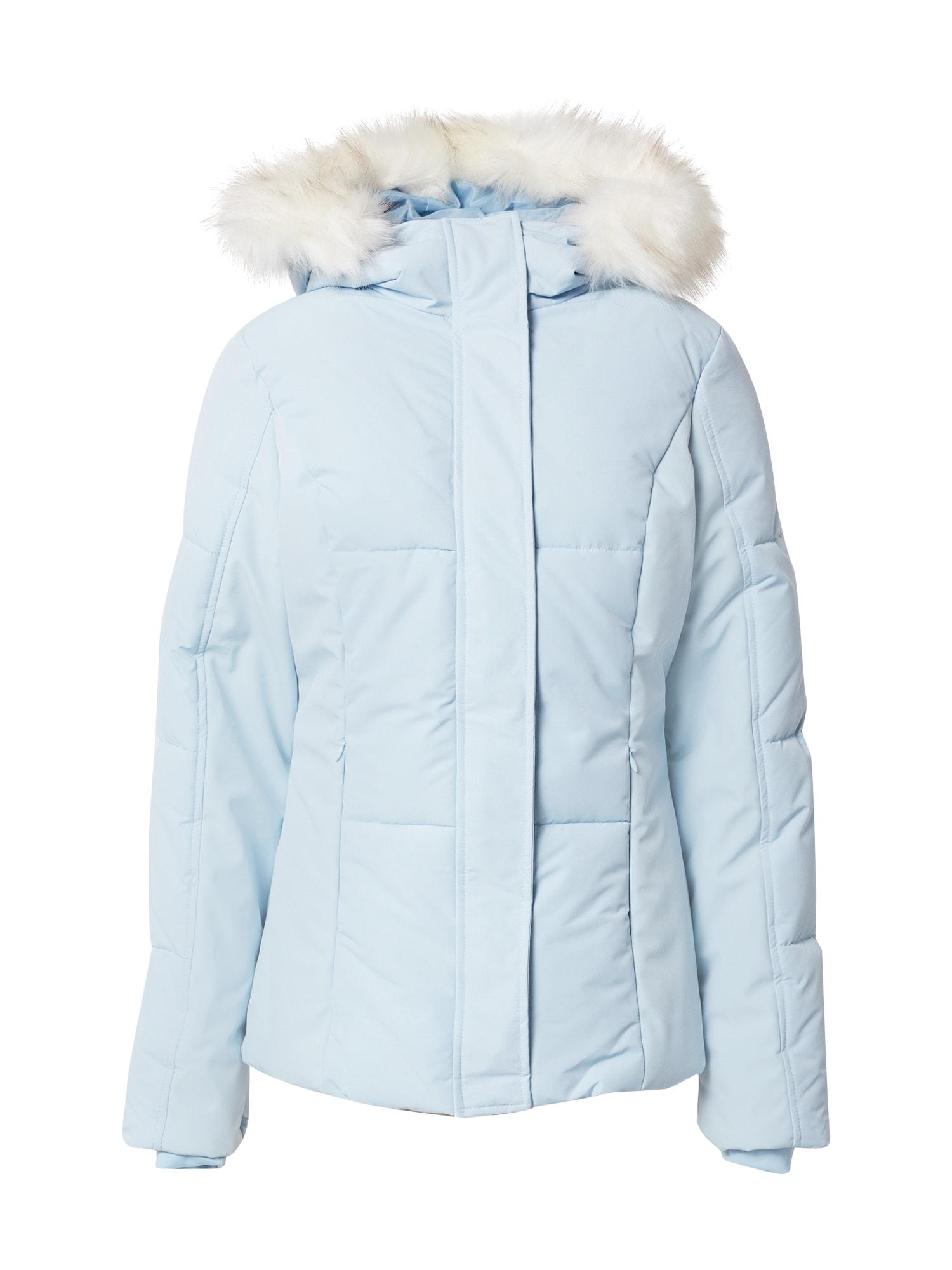 Missguided Žieminė striukė šviesiai mėlyna
