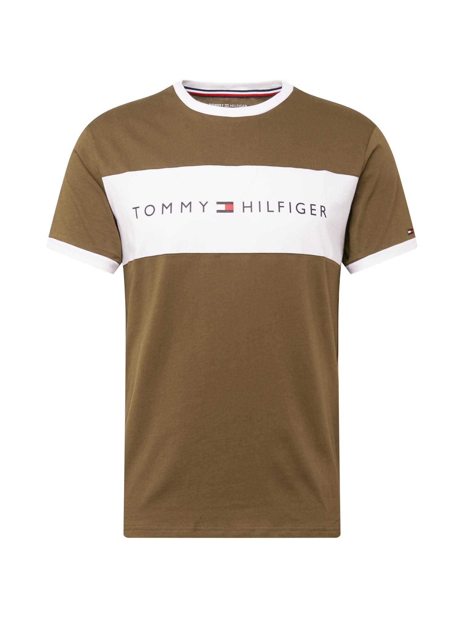 Tommy Hilfiger Underwear Tílko  olivová / bílá